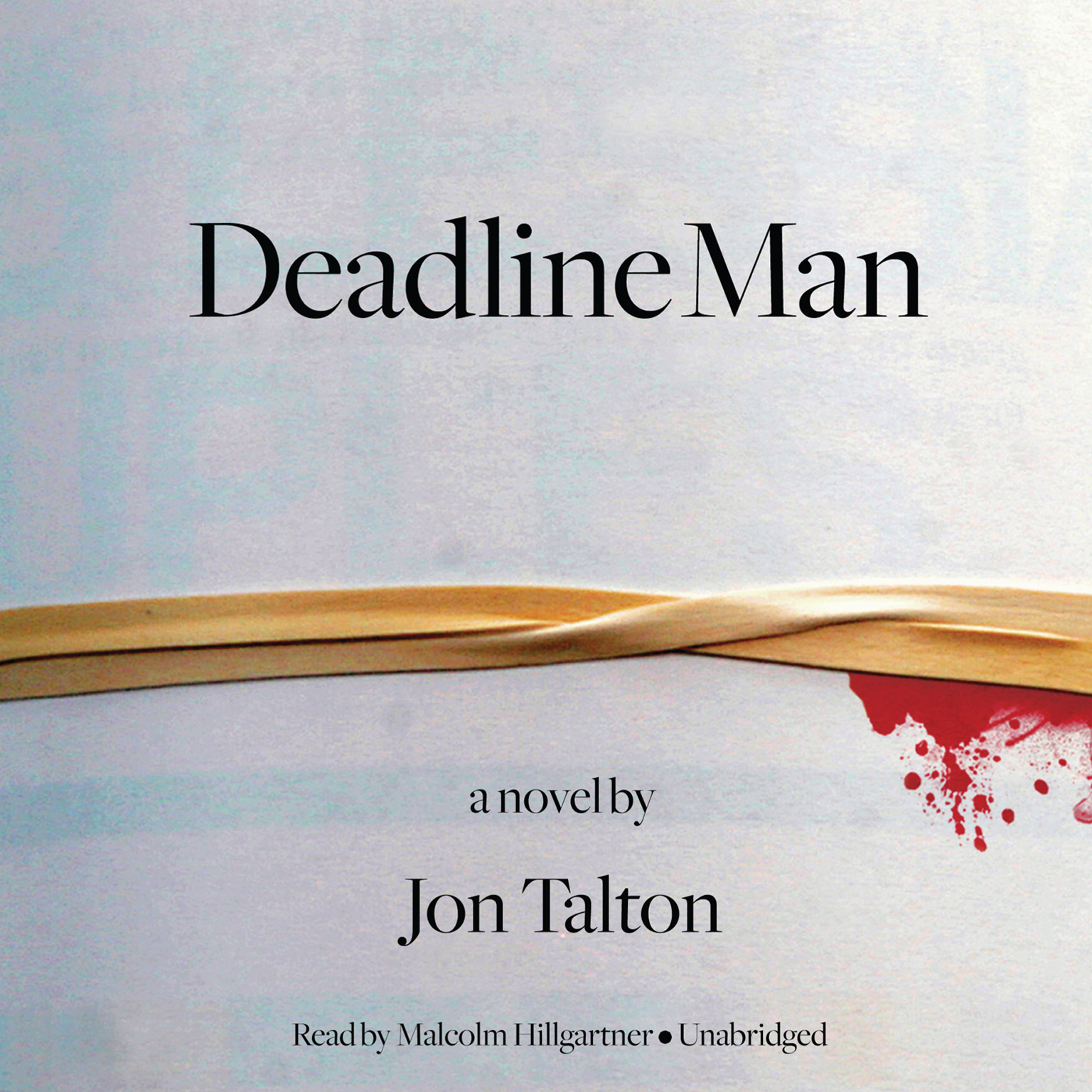 Printable Deadline Man Audiobook Cover Art