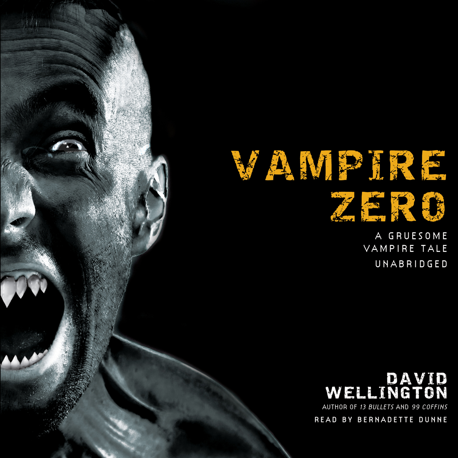 Printable Vampire Zero: A Gruesome Vampire Tale Audiobook Cover Art