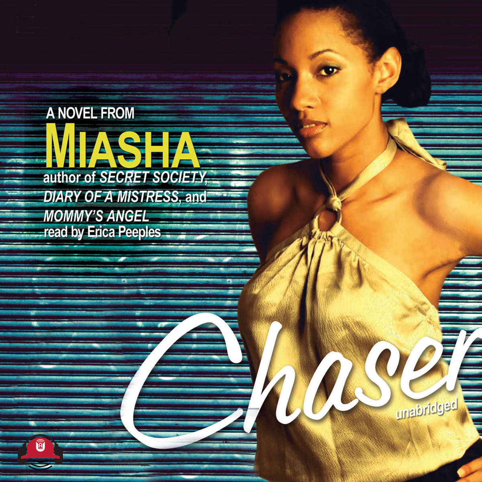 Printable Chaser: A Novel Audiobook Cover Art