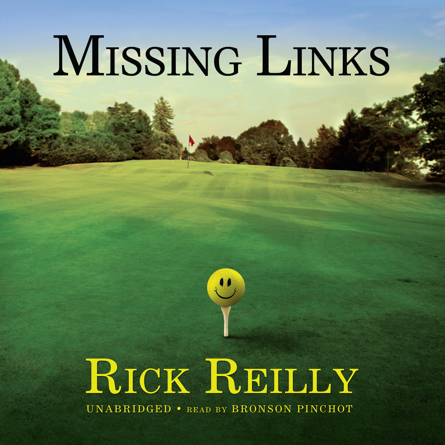 Printable Missing Links Audiobook Cover Art