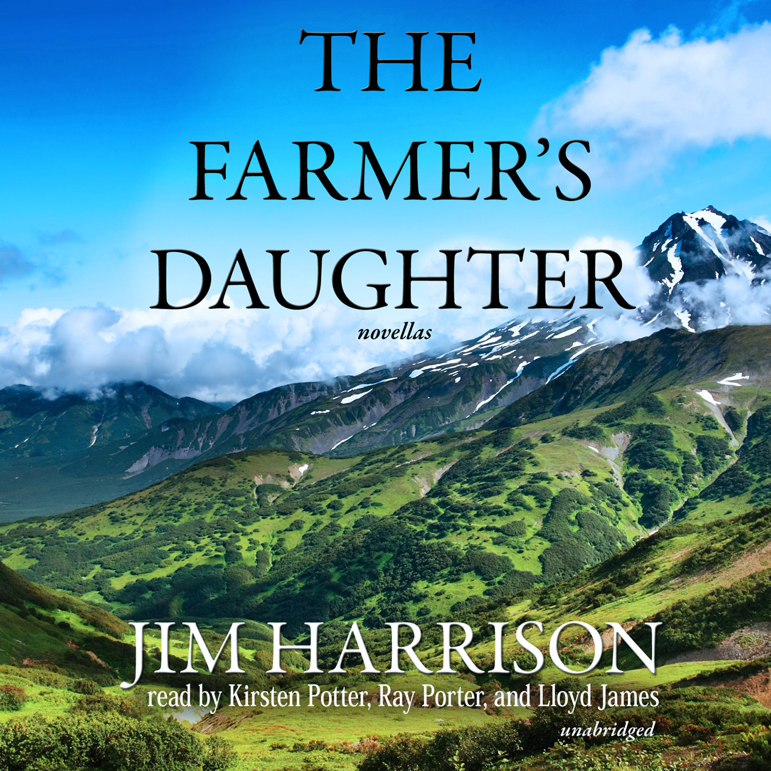 Printable The Farmer's Daughter Audiobook Cover Art