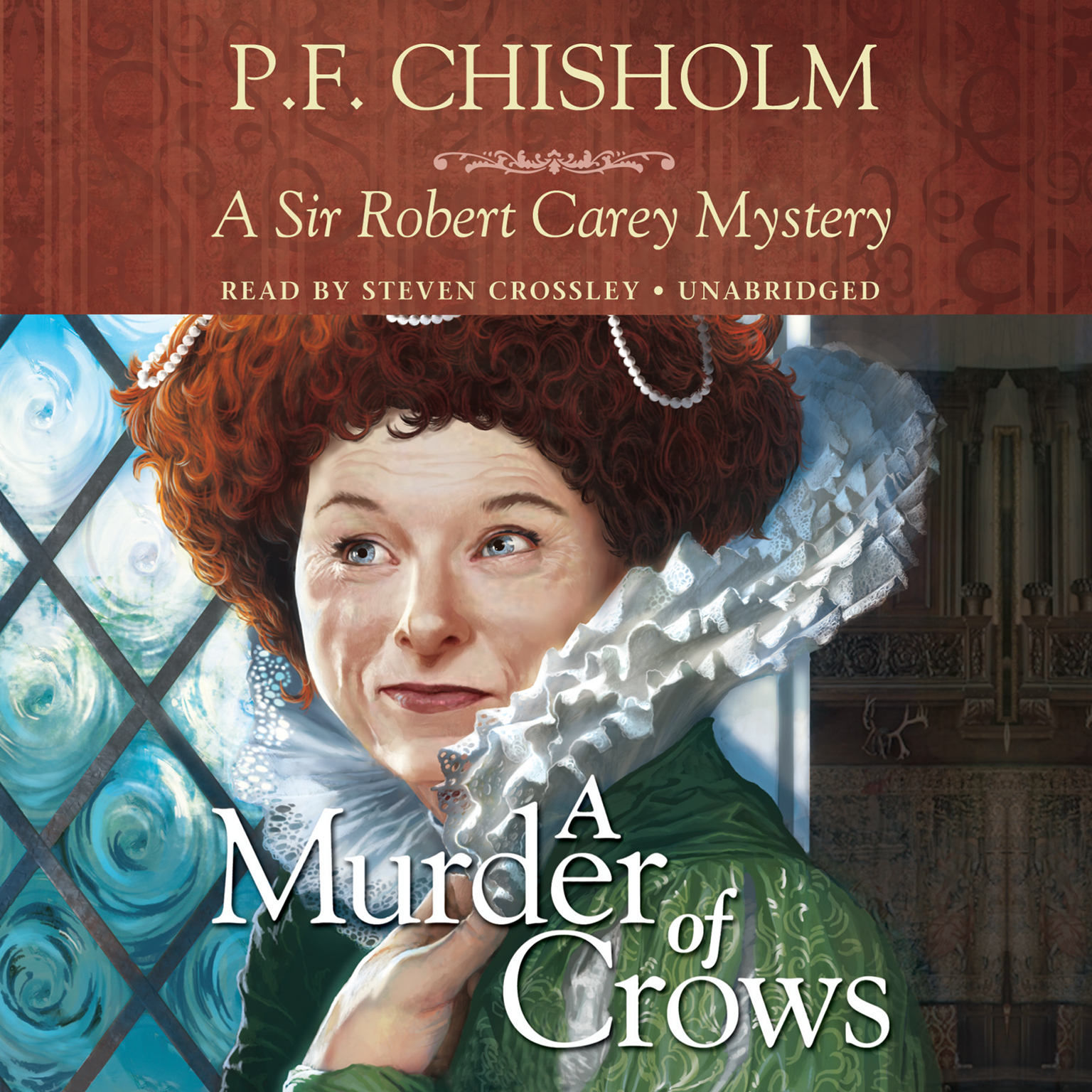 Printable A Murder of Crows: A Sir Robert Carey Mystery Audiobook Cover Art