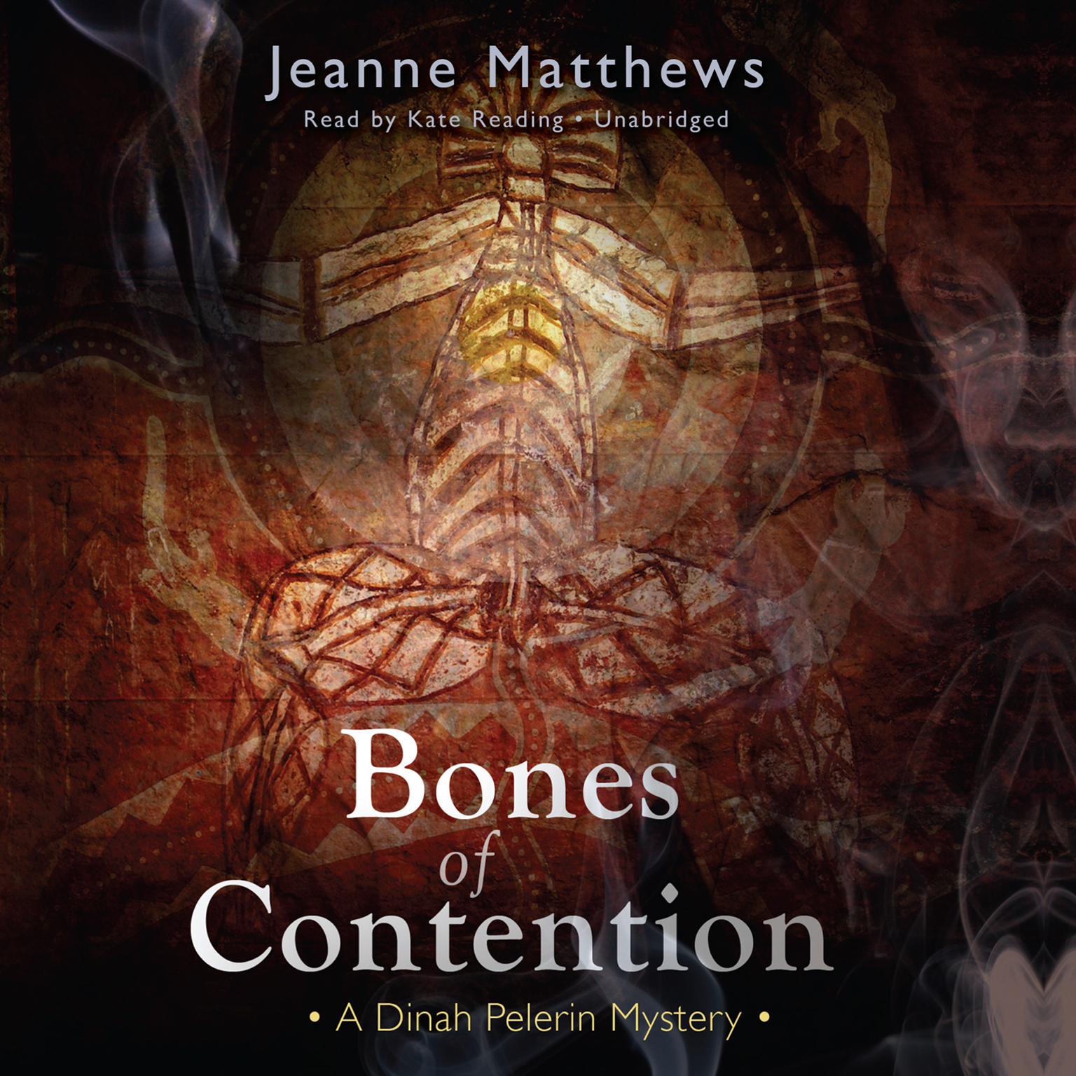 Printable Bones of Contention: A Dinah Pelerin Mystery Audiobook Cover Art