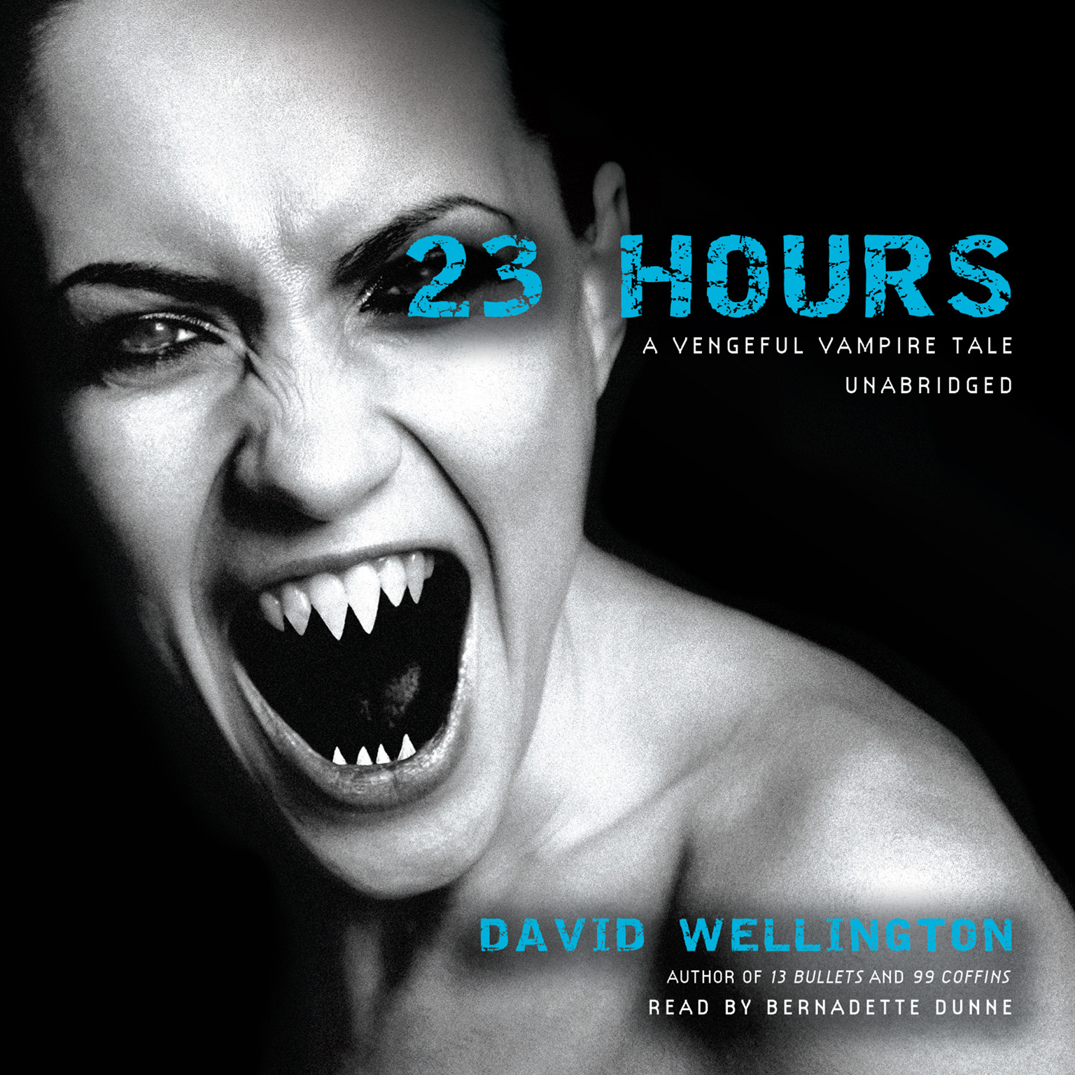 Printable 23 Hours: A Vengeful Vampire Tale Audiobook Cover Art