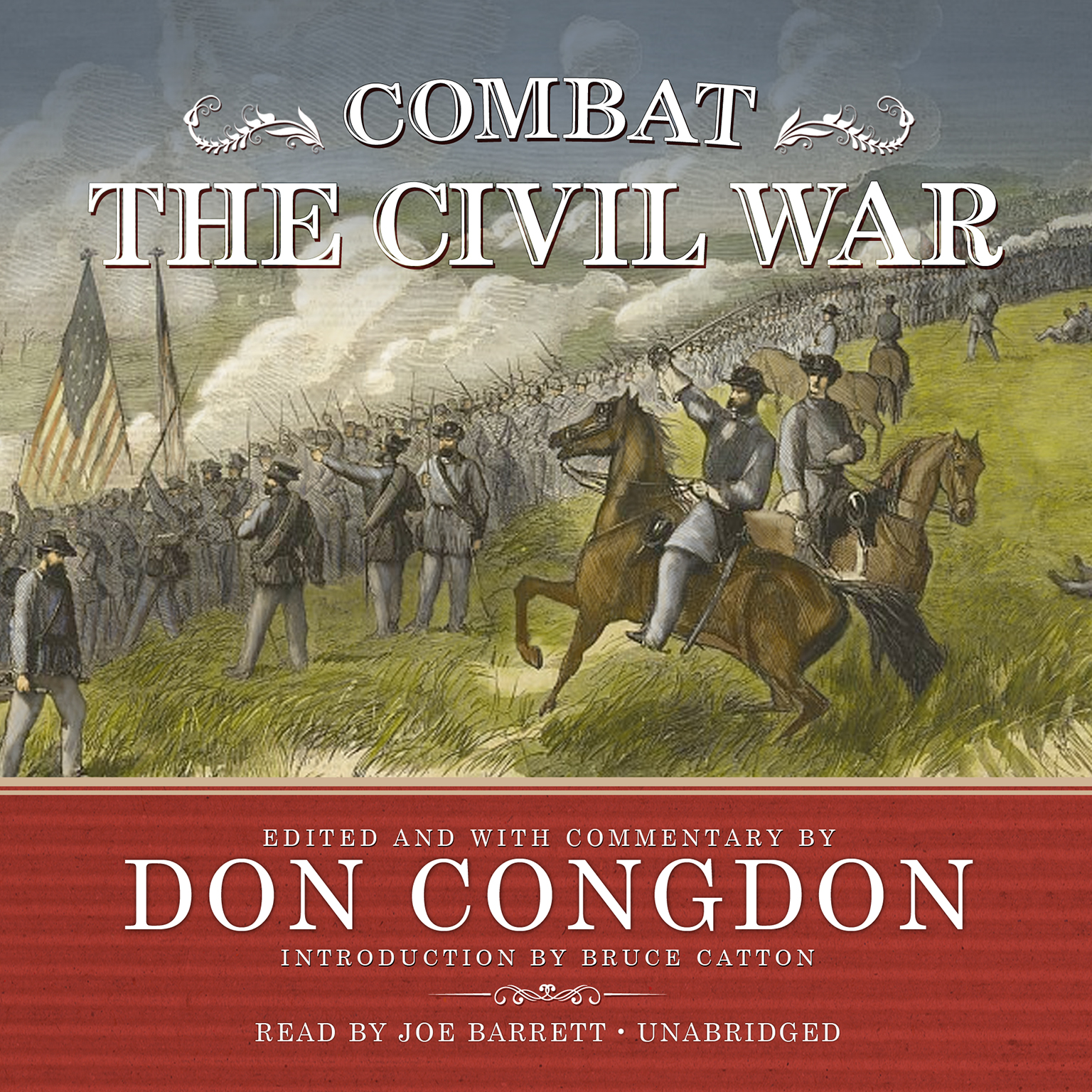 Printable Combat: The Civil War Audiobook Cover Art