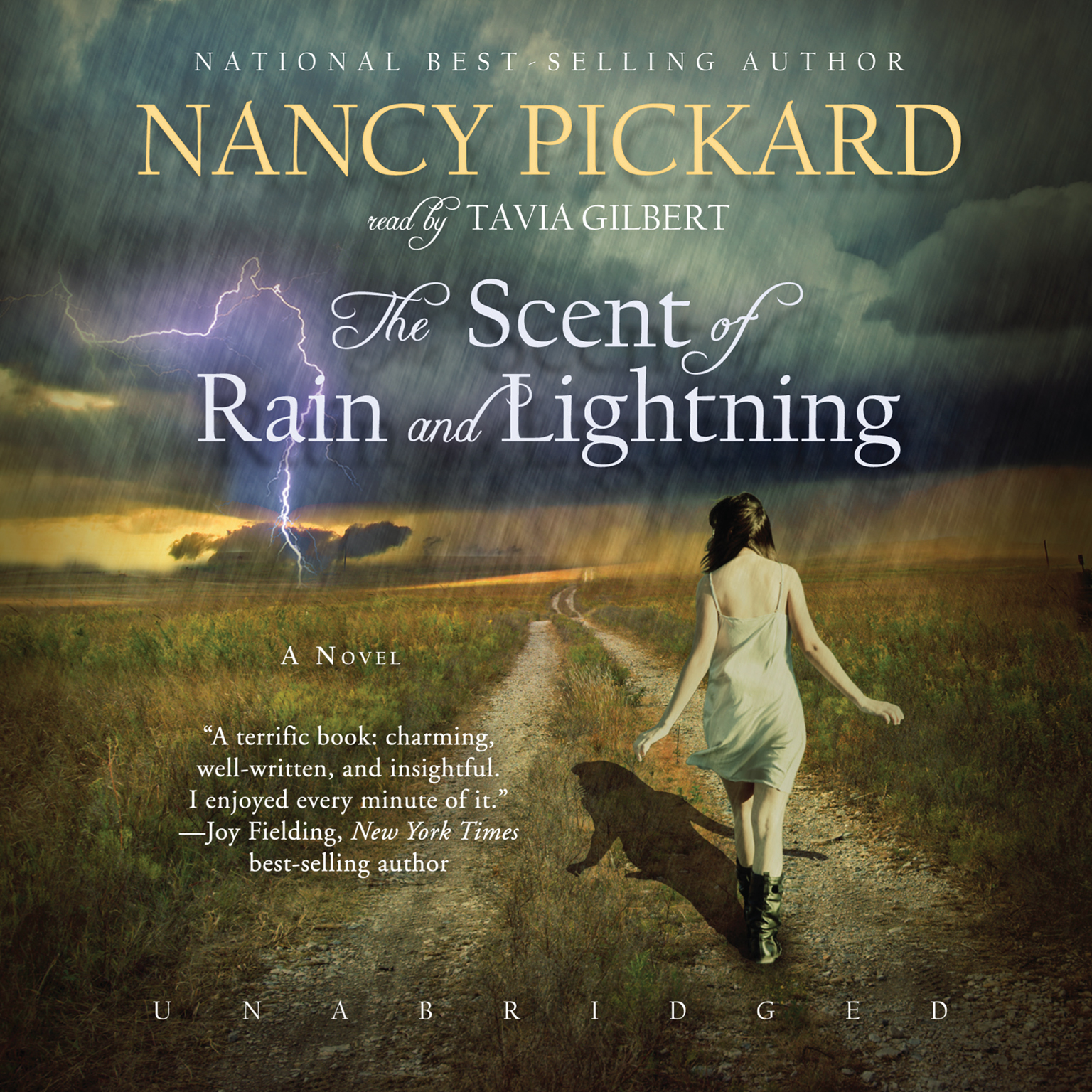 Printable The Scent of Rain and Lightning: A Novel Audiobook Cover Art