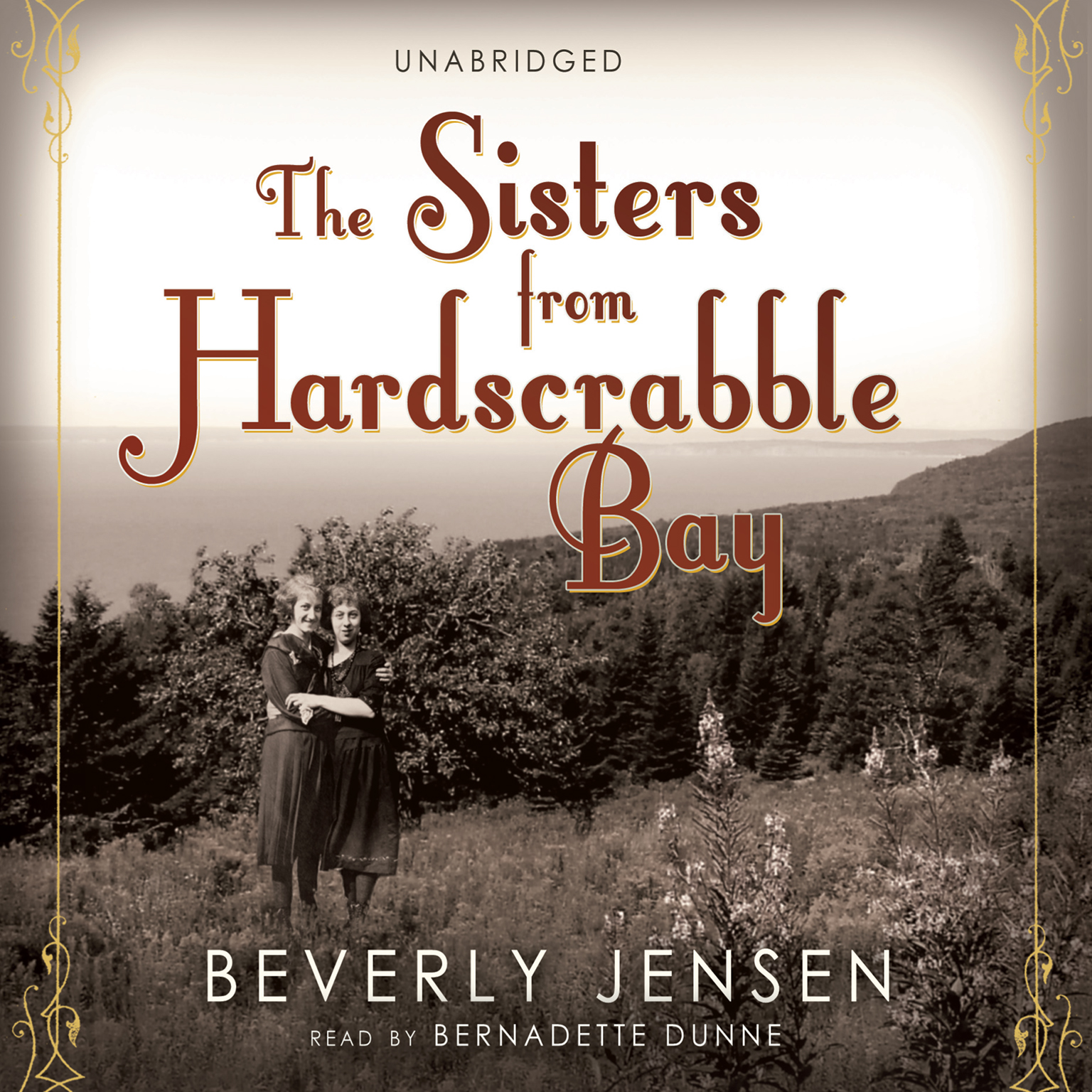 Printable The Sisters from Hardscrabble Bay Audiobook Cover Art