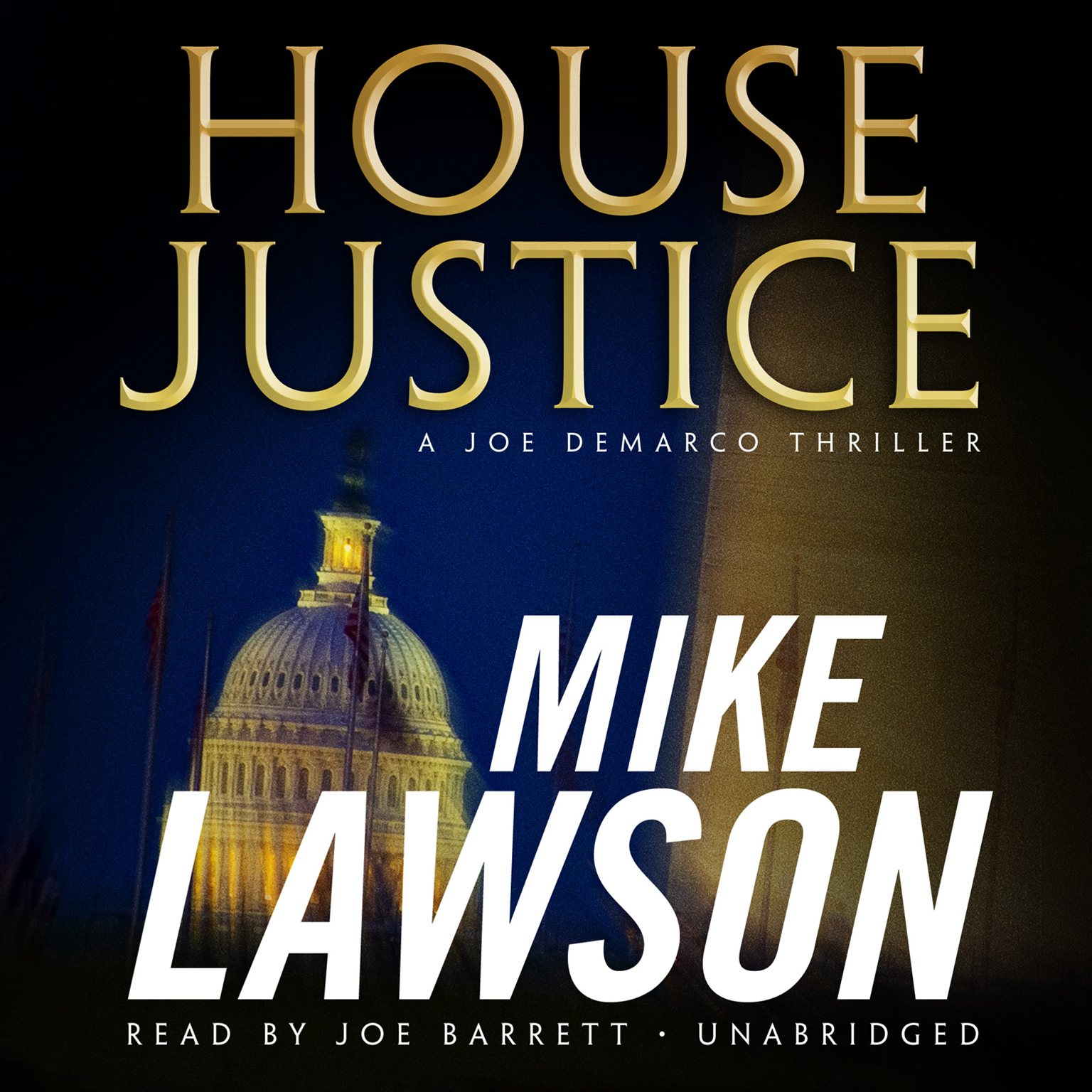 Printable House Justice: A Joe DeMarco Thriller Audiobook Cover Art