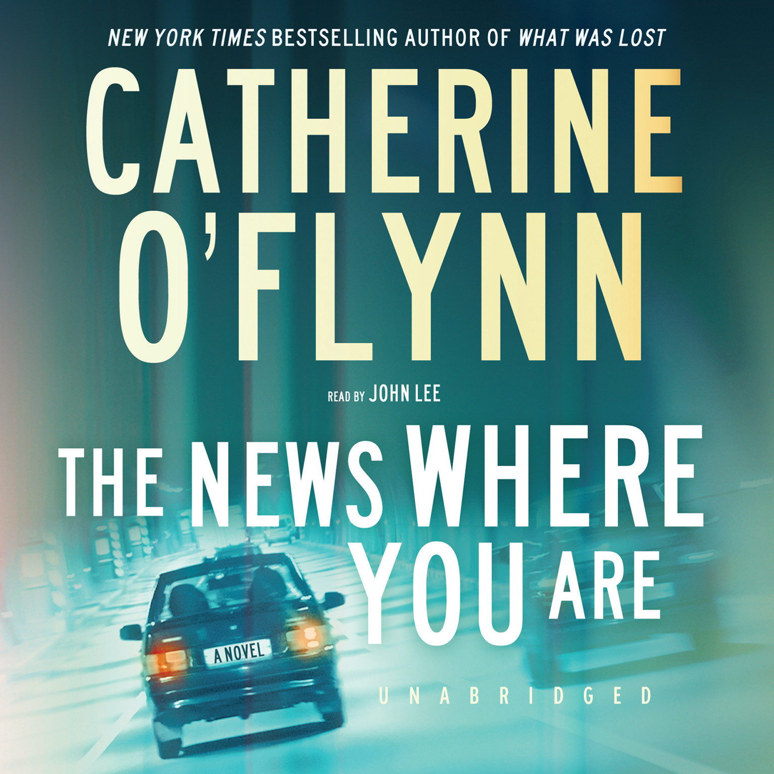 Printable The News Where You Are Audiobook Cover Art
