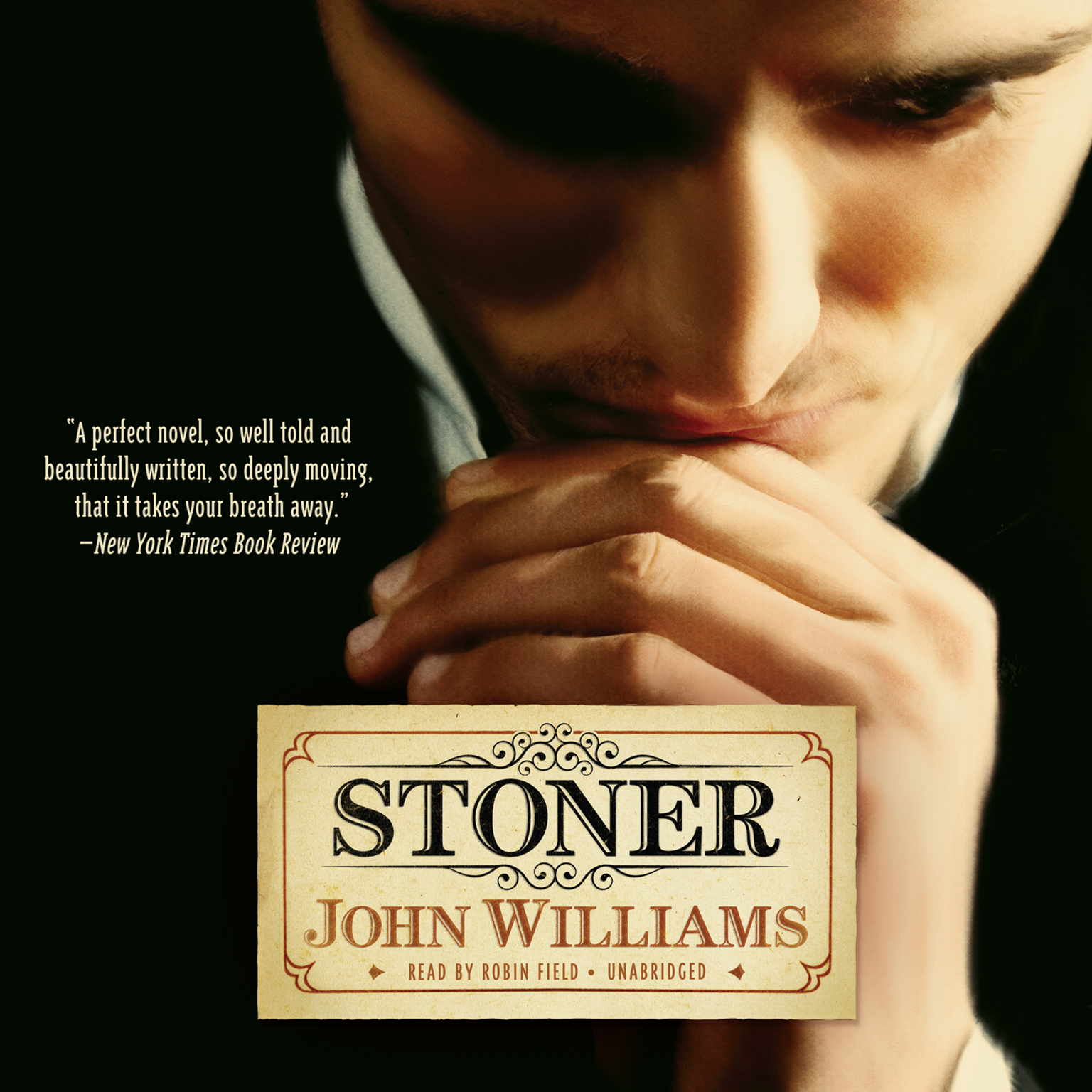 Printable Stoner Audiobook Cover Art