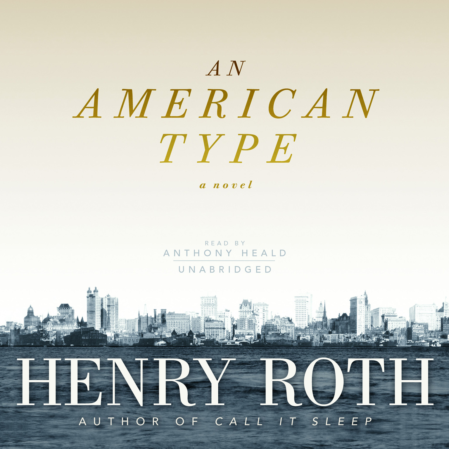 Printable An American Type: A Novel Audiobook Cover Art