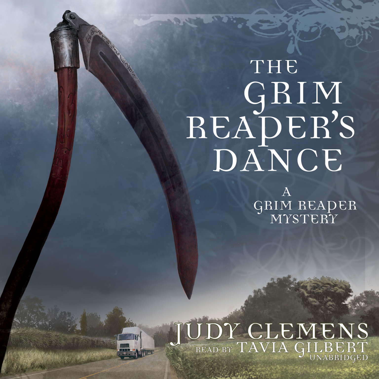 Printable The Grim Reaper's Dance Audiobook Cover Art