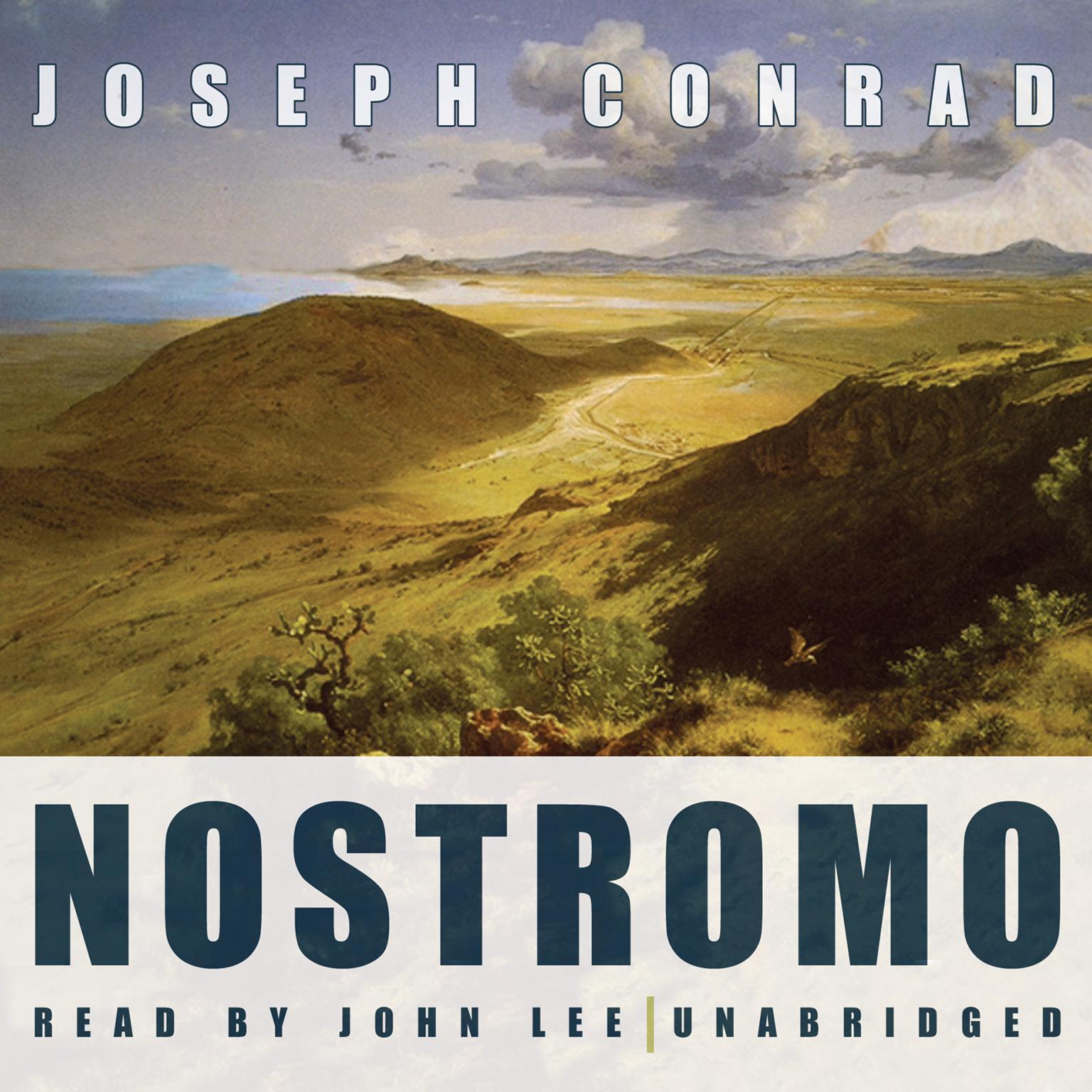 Printable Nostromo Audiobook Cover Art