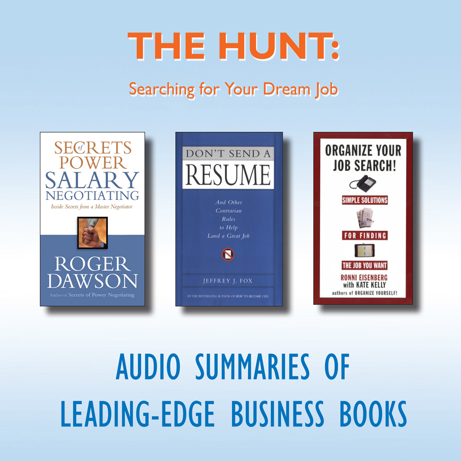 Printable The Hunt: Searching for Your Dream Job Audiobook Cover Art