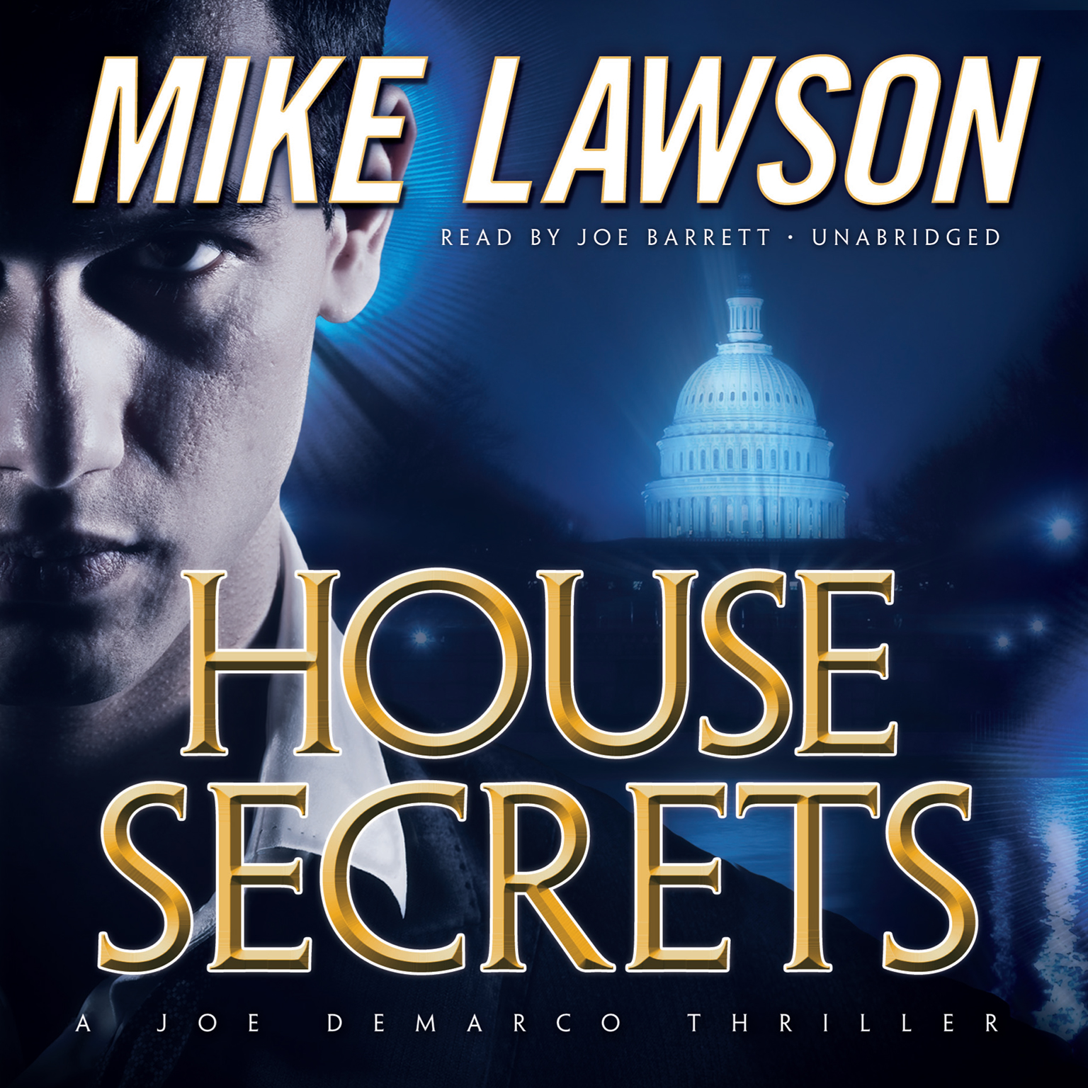 Printable House Secrets: A Joe DeMarco Thriller Audiobook Cover Art