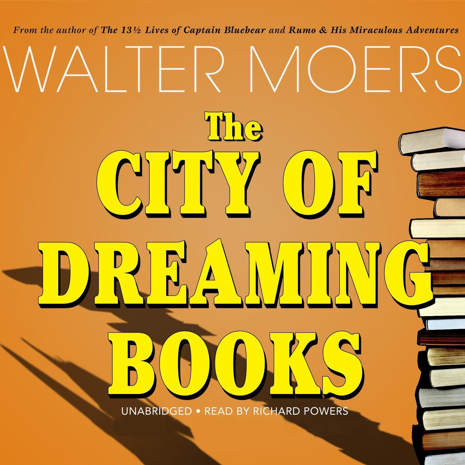 Printable The City of Dreaming Books Audiobook Cover Art