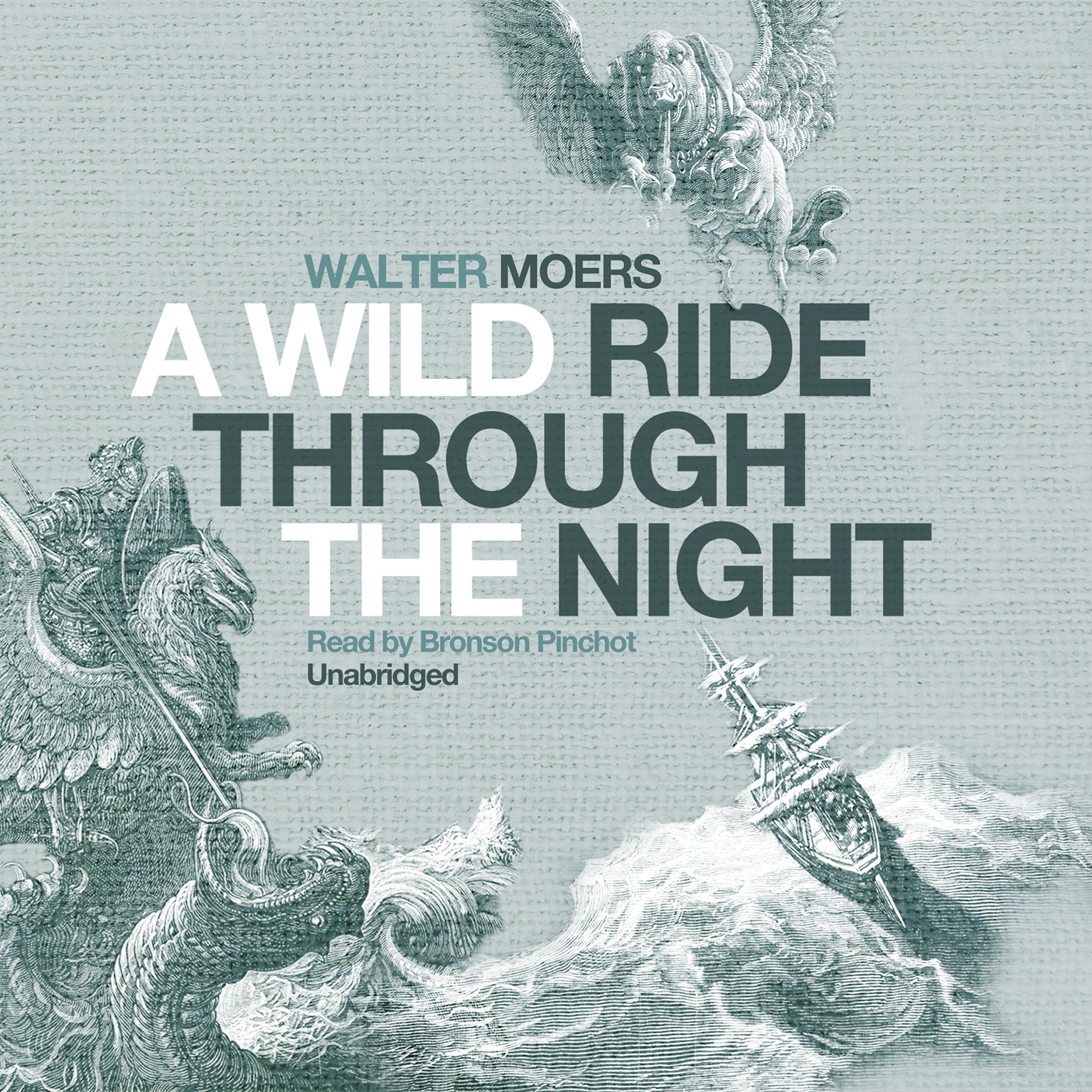 Printable A Wild Ride through the Night Audiobook Cover Art