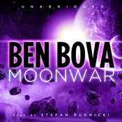 Moonwar Audiobook, by Ben Bova
