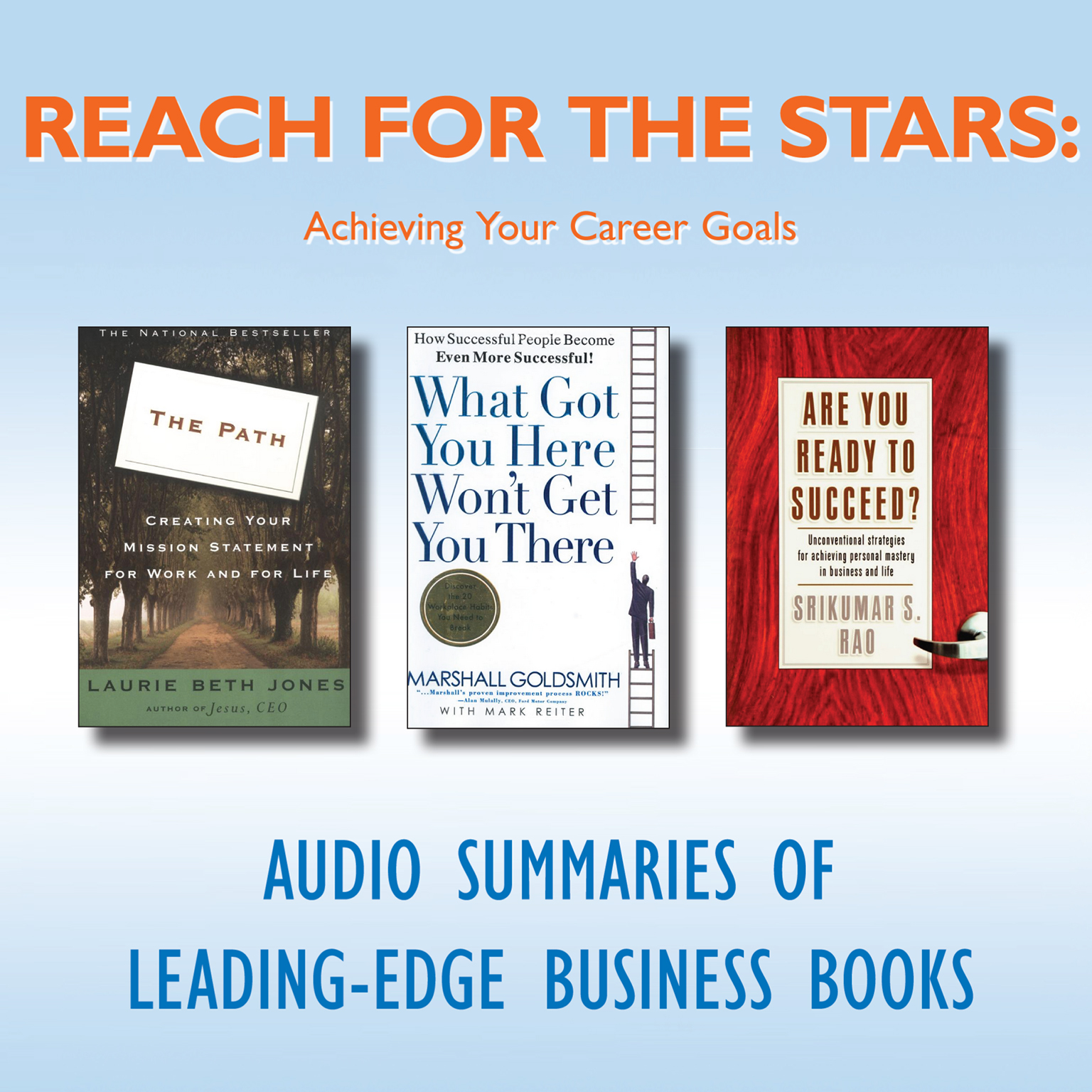 Printable Reach for the Stars: Achieving Your Career Goals Audiobook Cover Art