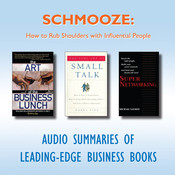 Schmooze: How to Rub Shoulders with Influential People Audiobook, by getAbstract