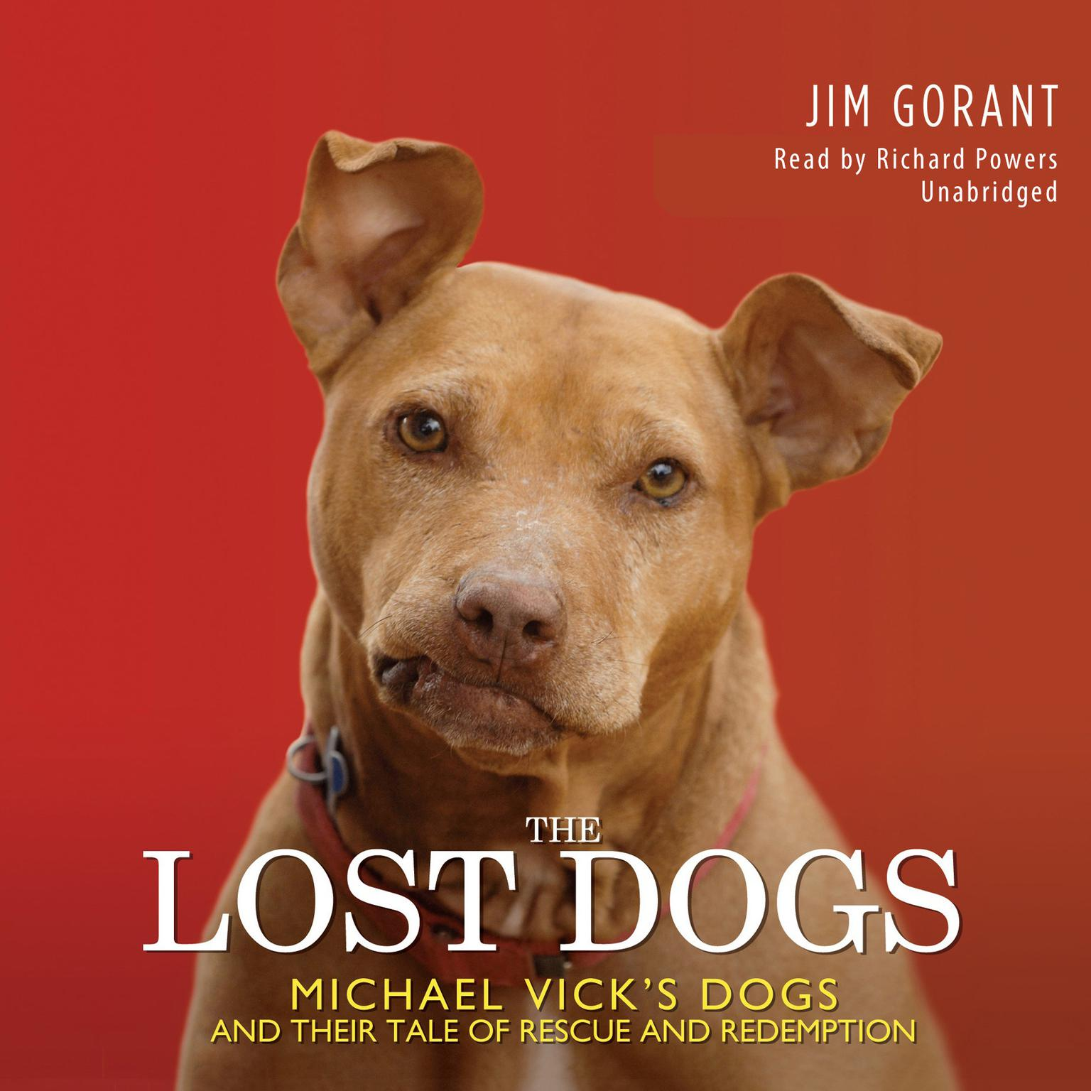 Printable The Lost Dogs: Michael Vick's Dogs and Their Tale of Rescue and Redemption Audiobook Cover Art