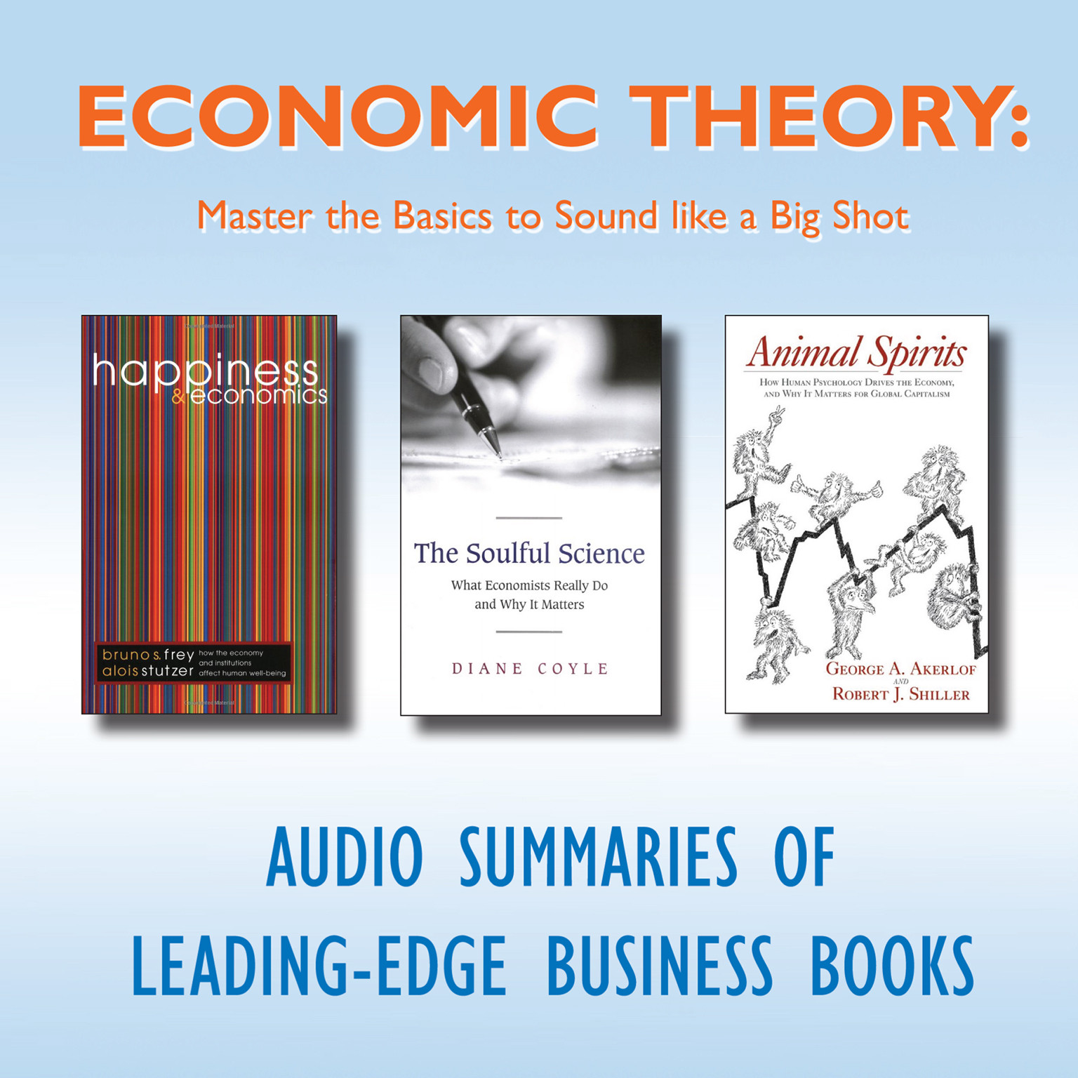 Printable Economic Theory: Master the Basics to Sound like a Big Shot Audiobook Cover Art