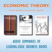 Economic Theory: Master the Basics to Sound like a Big Shot, by getAbstract
