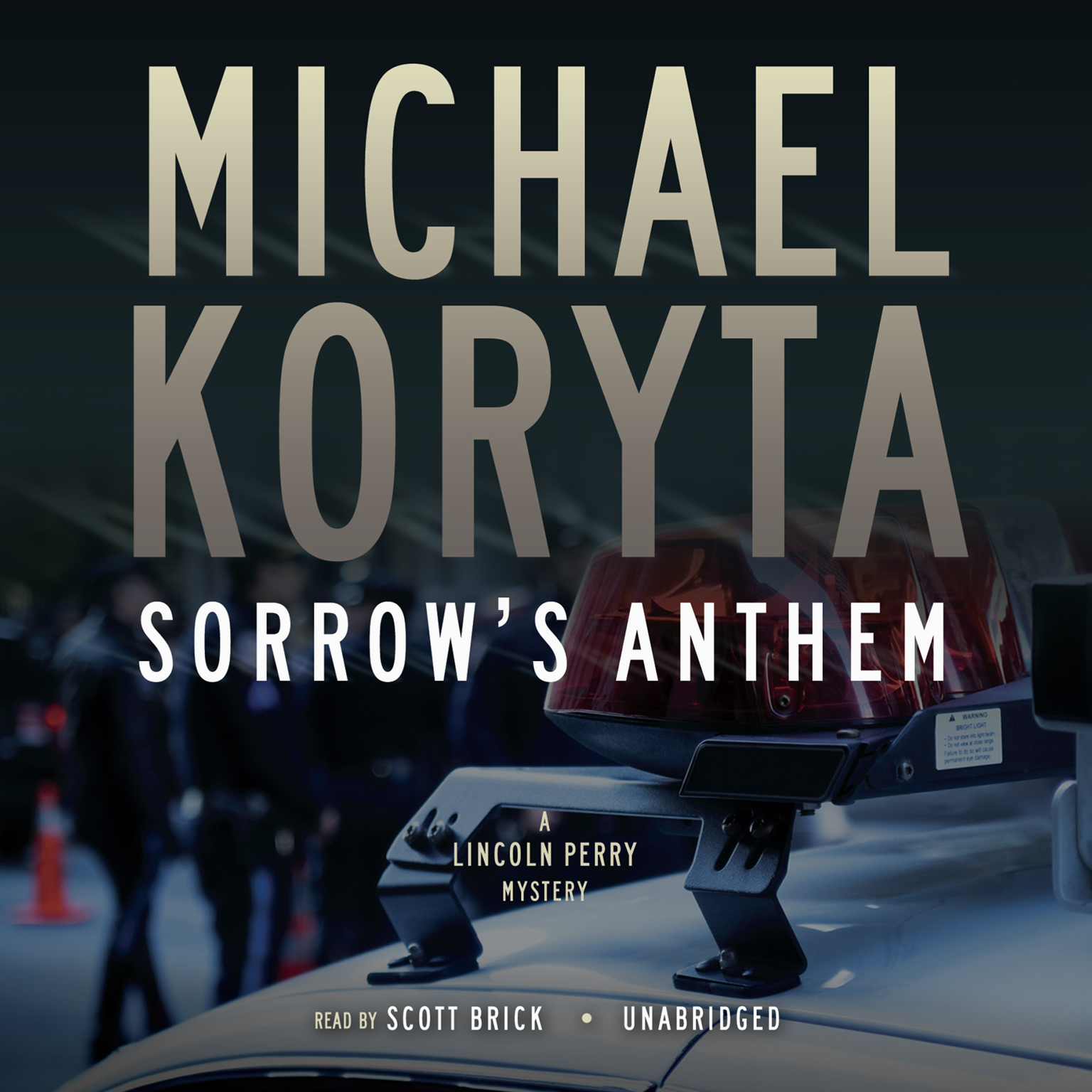 Printable Sorrow's Anthem Audiobook Cover Art