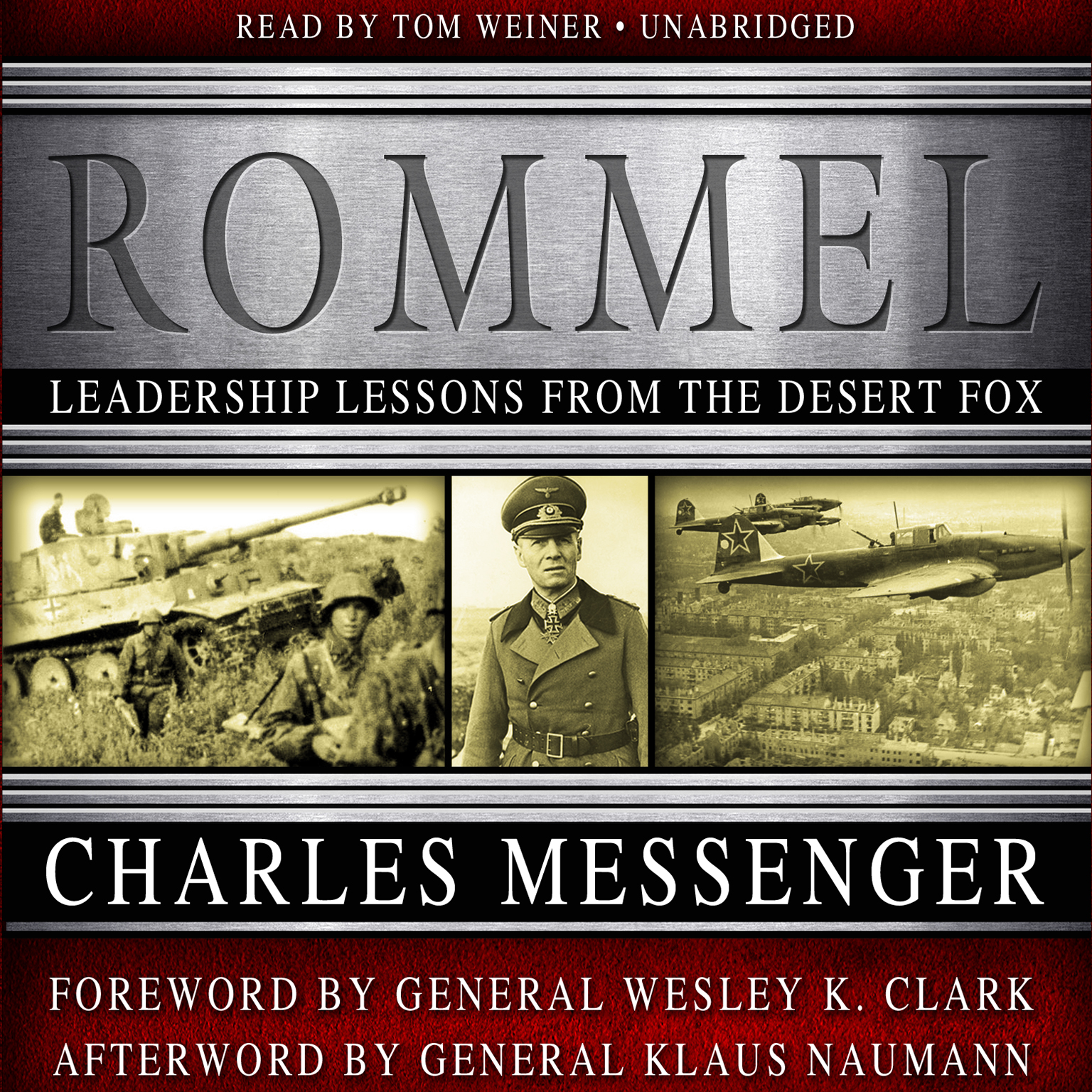 Printable Rommel: Leadership Lessons from the Desert Fox Audiobook Cover Art