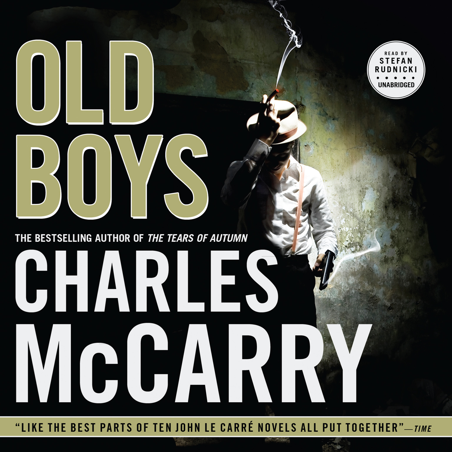 Printable Old Boys Audiobook Cover Art
