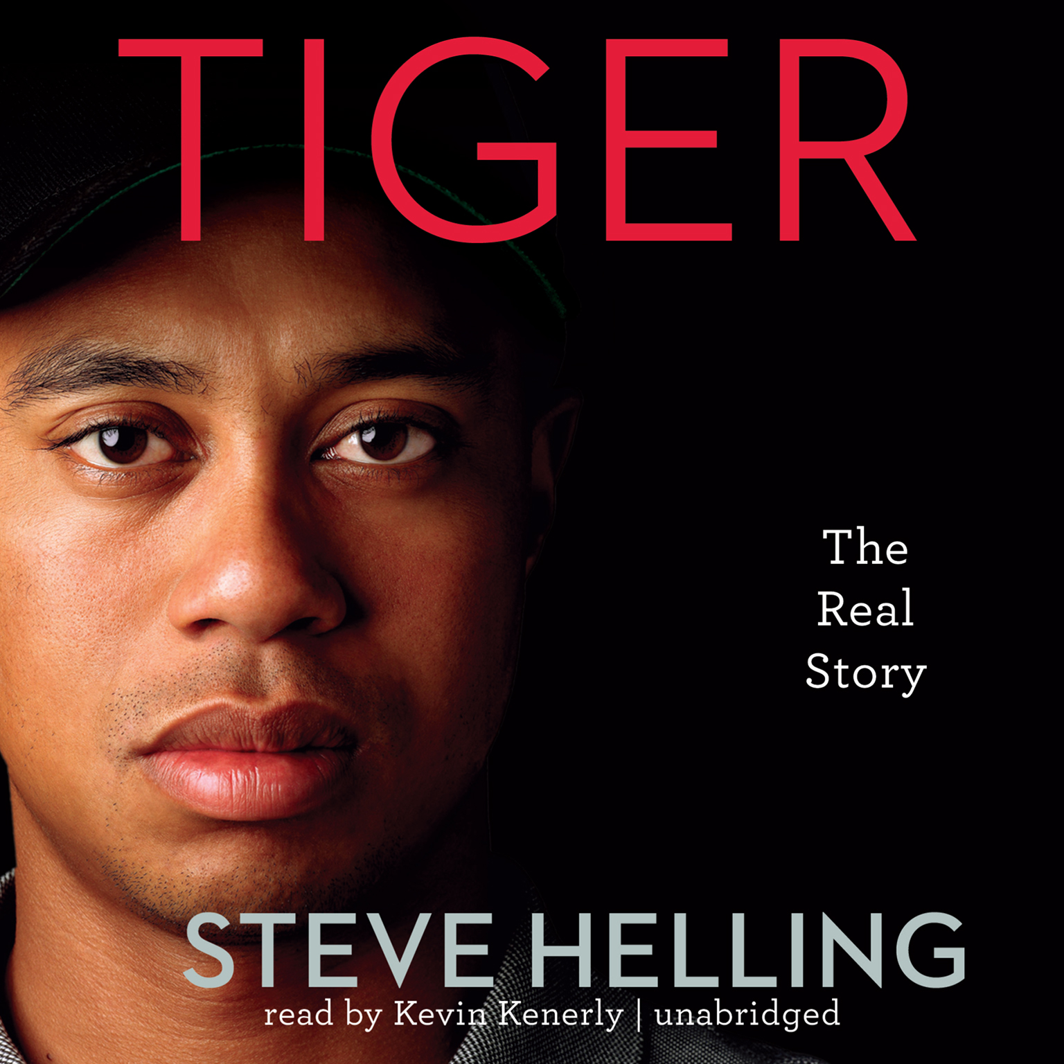 Printable Tiger: The Real Story Audiobook Cover Art