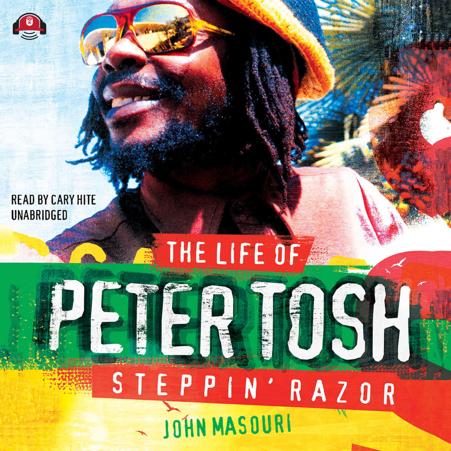 Printable Steppin' Razor: The Life of Peter Tosh Audiobook Cover Art