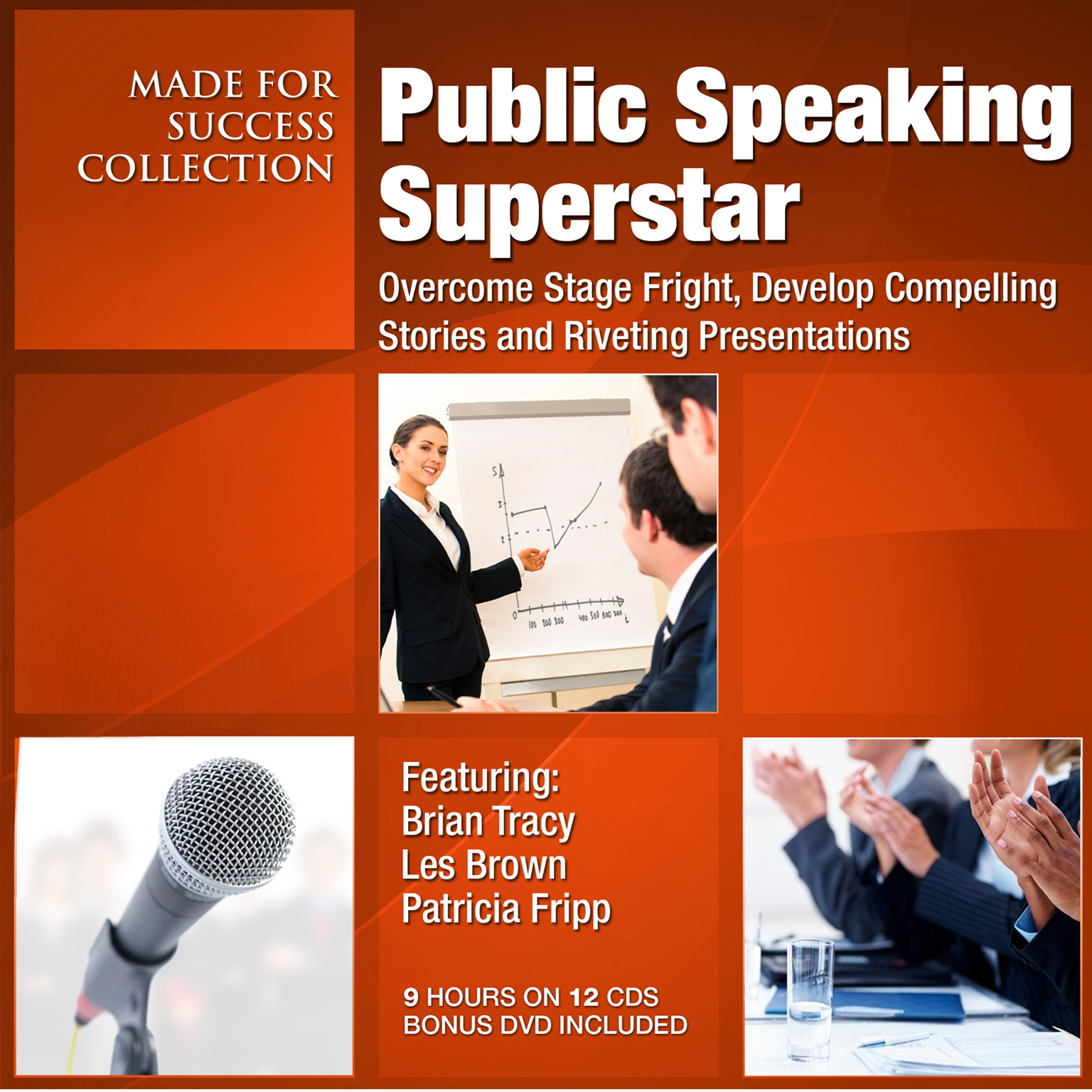 Printable Public Speaking Superstar: Overcome Stage Fright, Develop Compelling Stories and Riveting Presentations Audiobook Cover Art