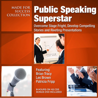 Public Speaking Superstar: Overcome Stage Fright, Develop Compelling Stories and Riveting Presentations Audiobook, by Made for Success