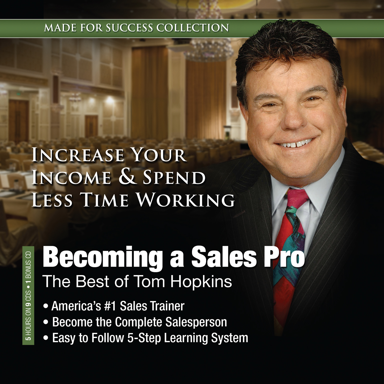 Printable Becoming a Sales Pro: The Best of Tom Hopkins Audiobook Cover Art