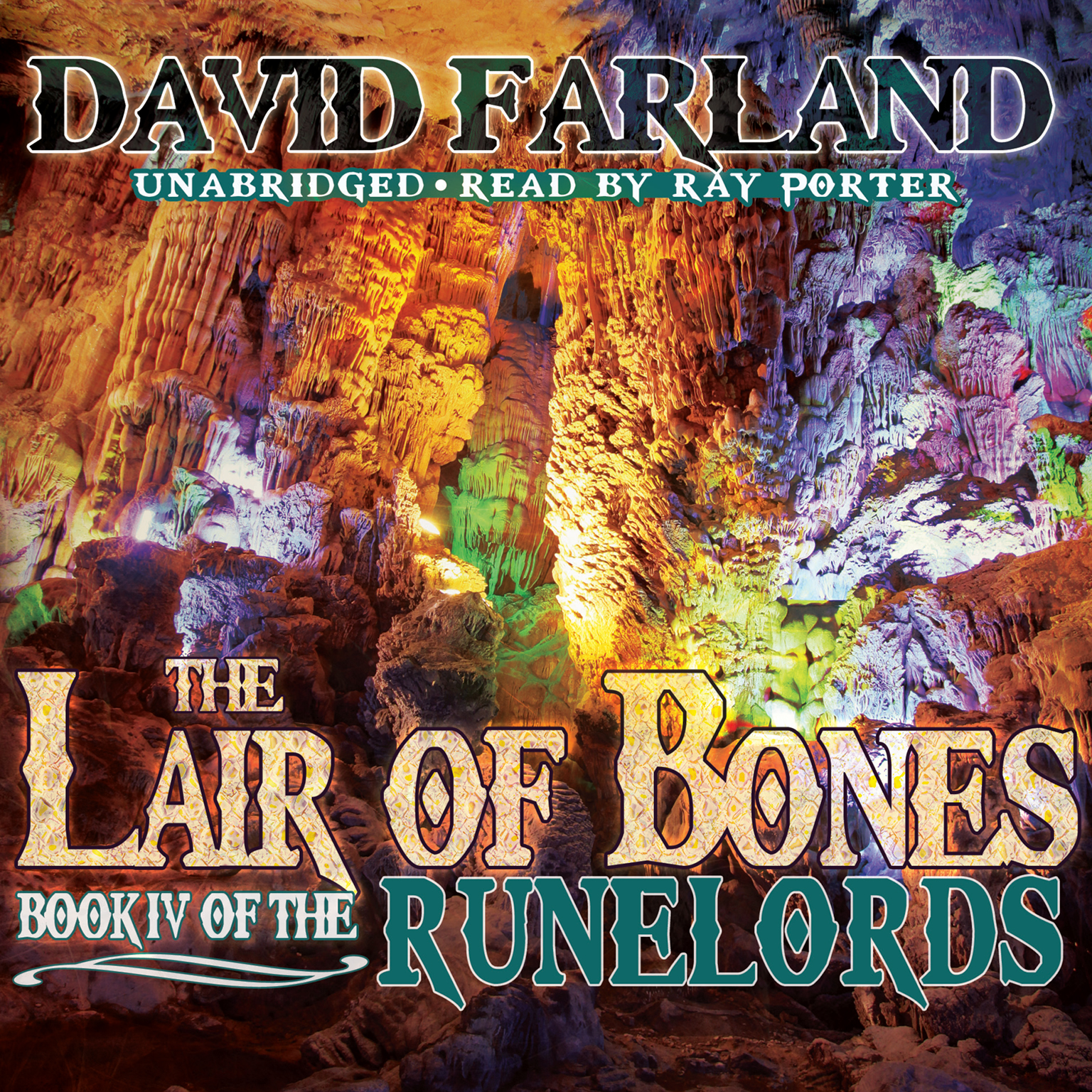 Printable The Lair of Bones Audiobook Cover Art