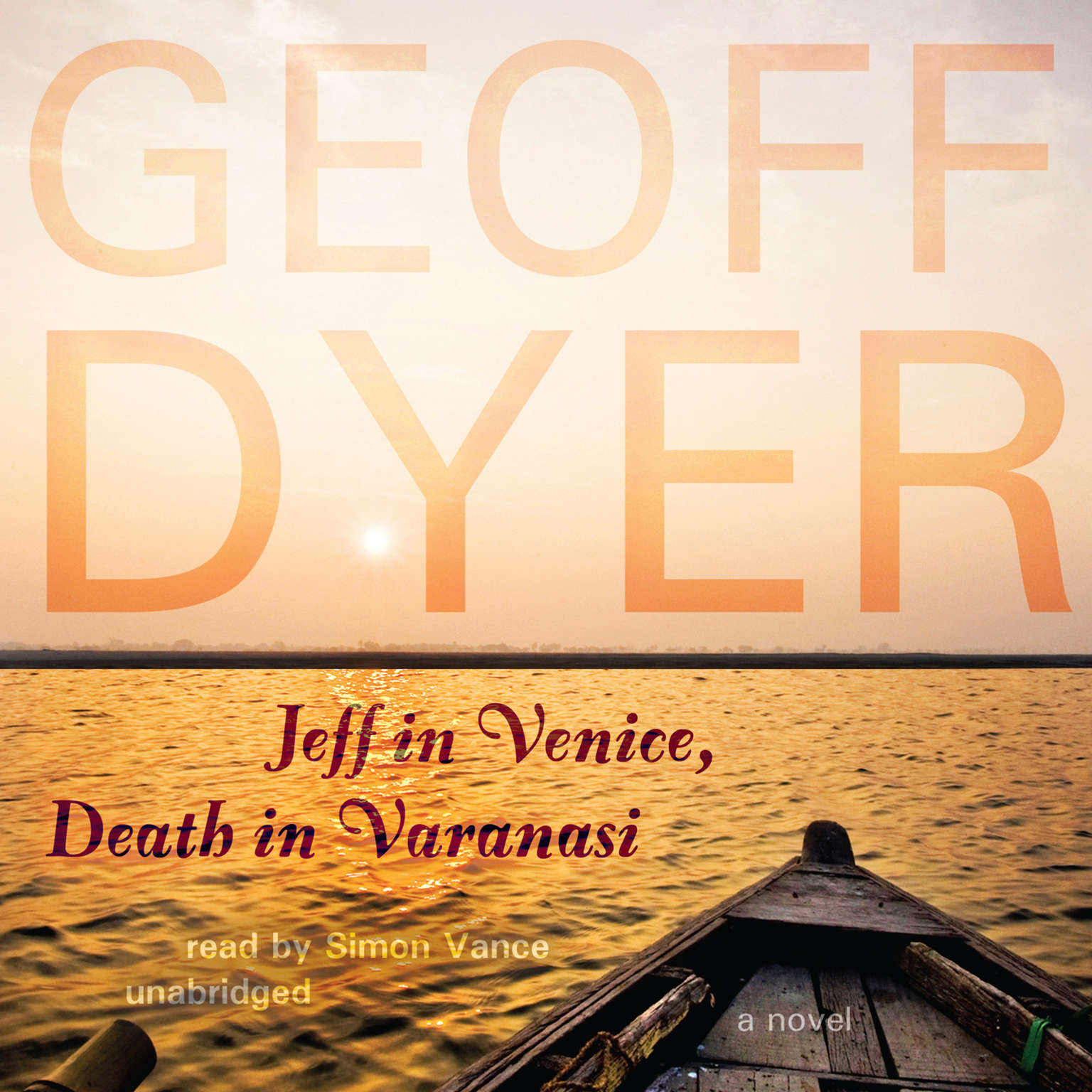 Printable Jeff in Venice, Death in Varanasi: A Novel Audiobook Cover Art