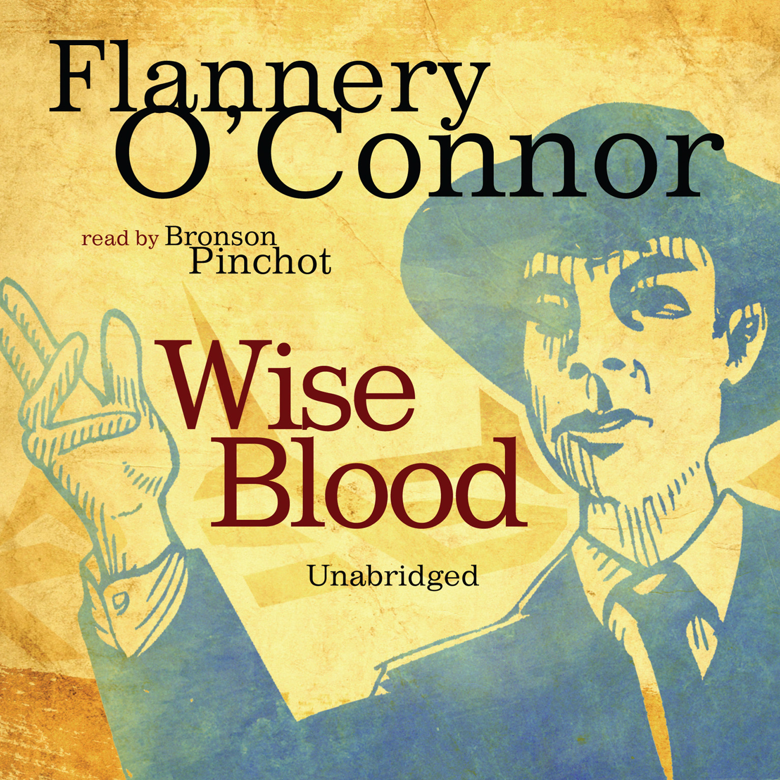 Printable Wise Blood Audiobook Cover Art