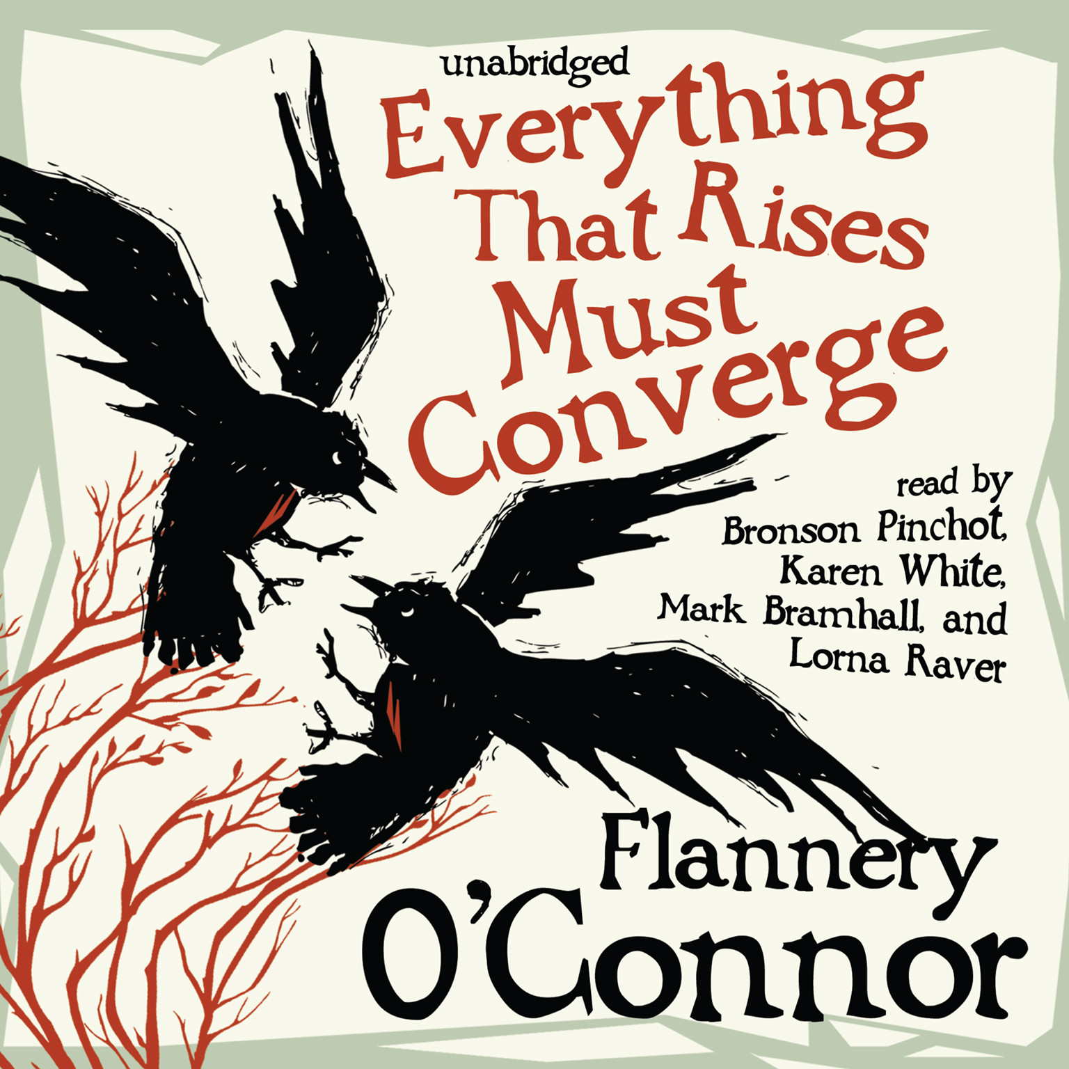Printable Everything That Rises Must Converge Audiobook Cover Art