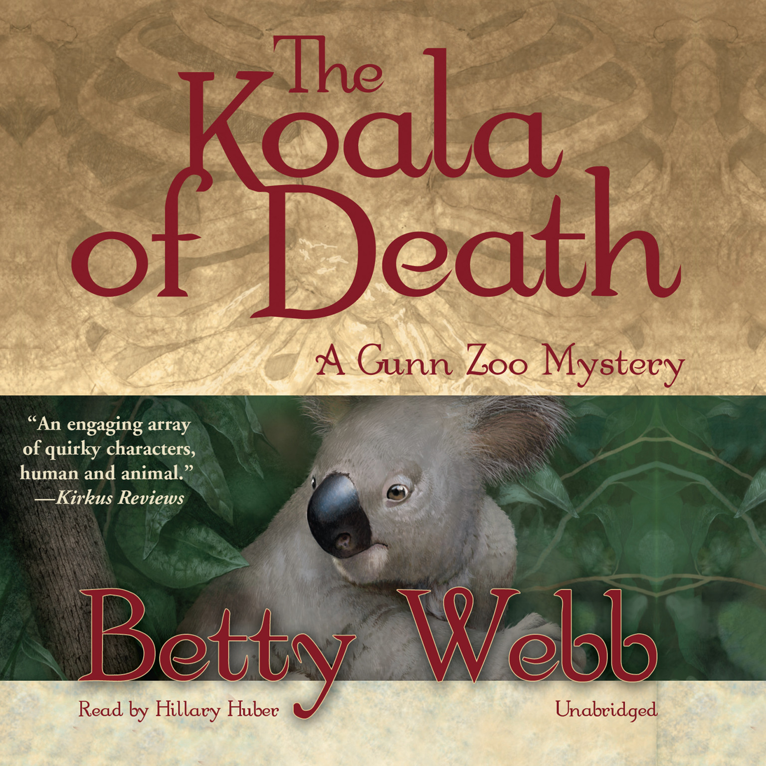 Printable The Koala of Death: A Gunn Zoo Mystery Audiobook Cover Art