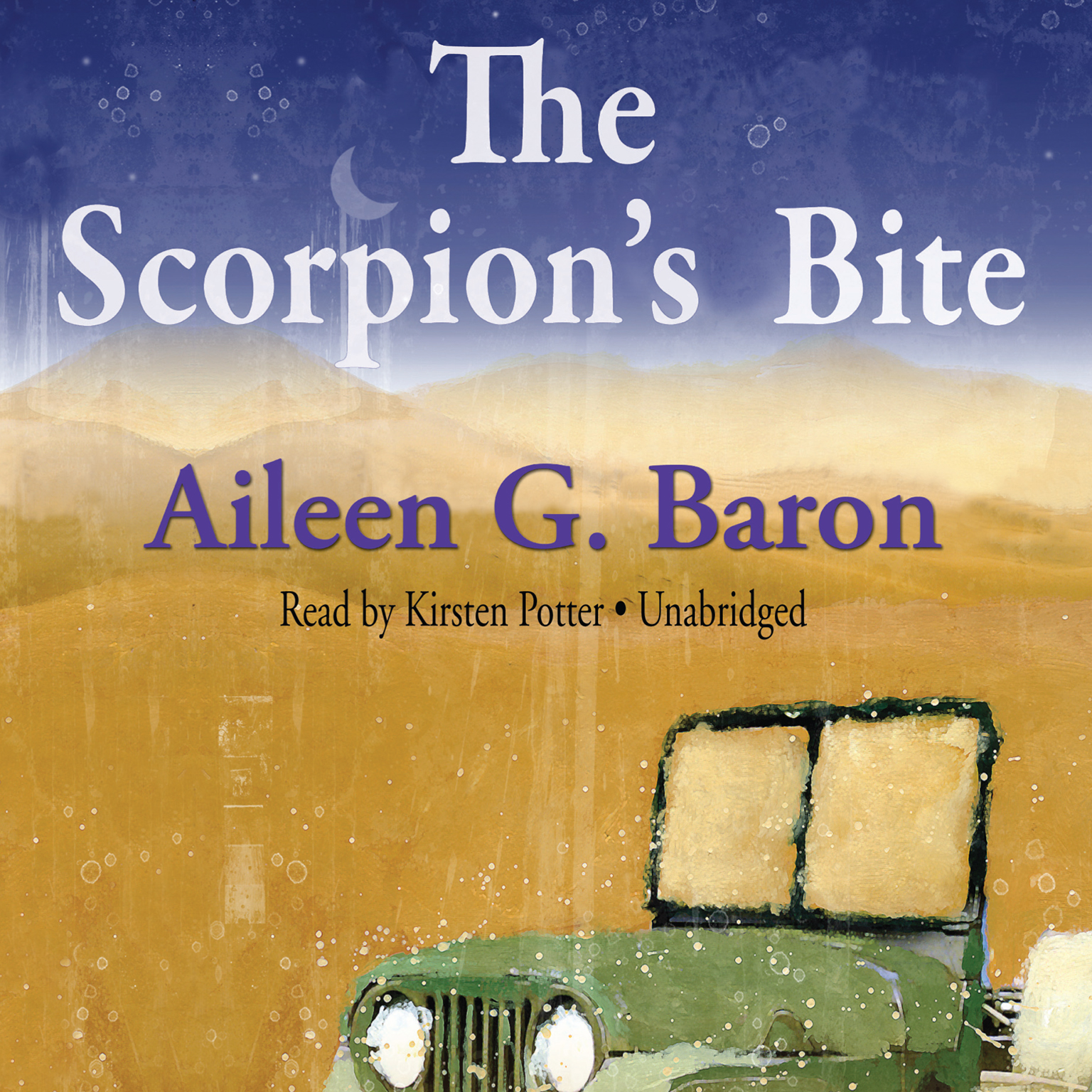 Printable The Scorpion's Bite: A Lily Sampson Mystery Audiobook Cover Art