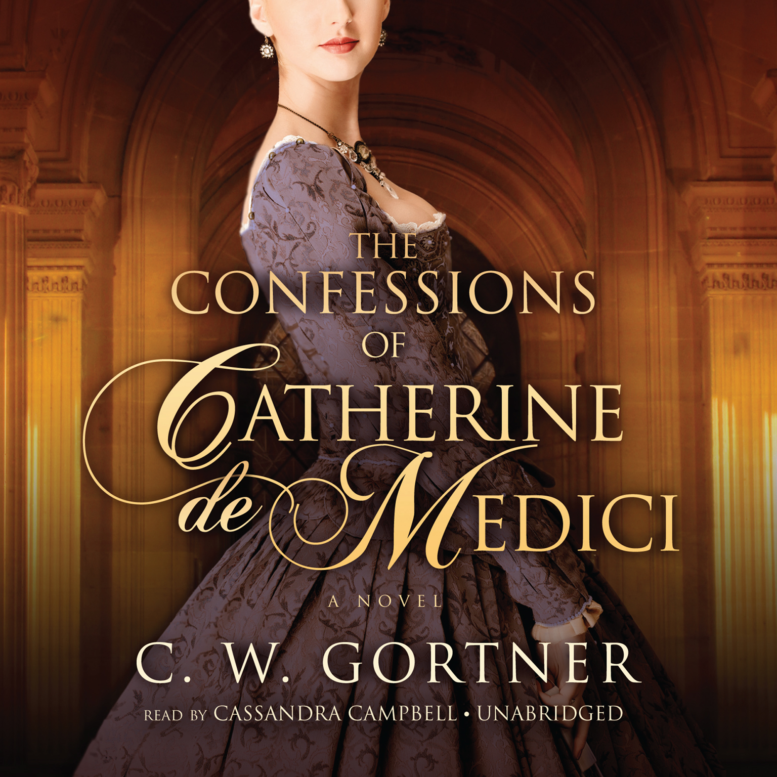 Printable The Confessions of Catherine de Medici: A Novel Audiobook Cover Art