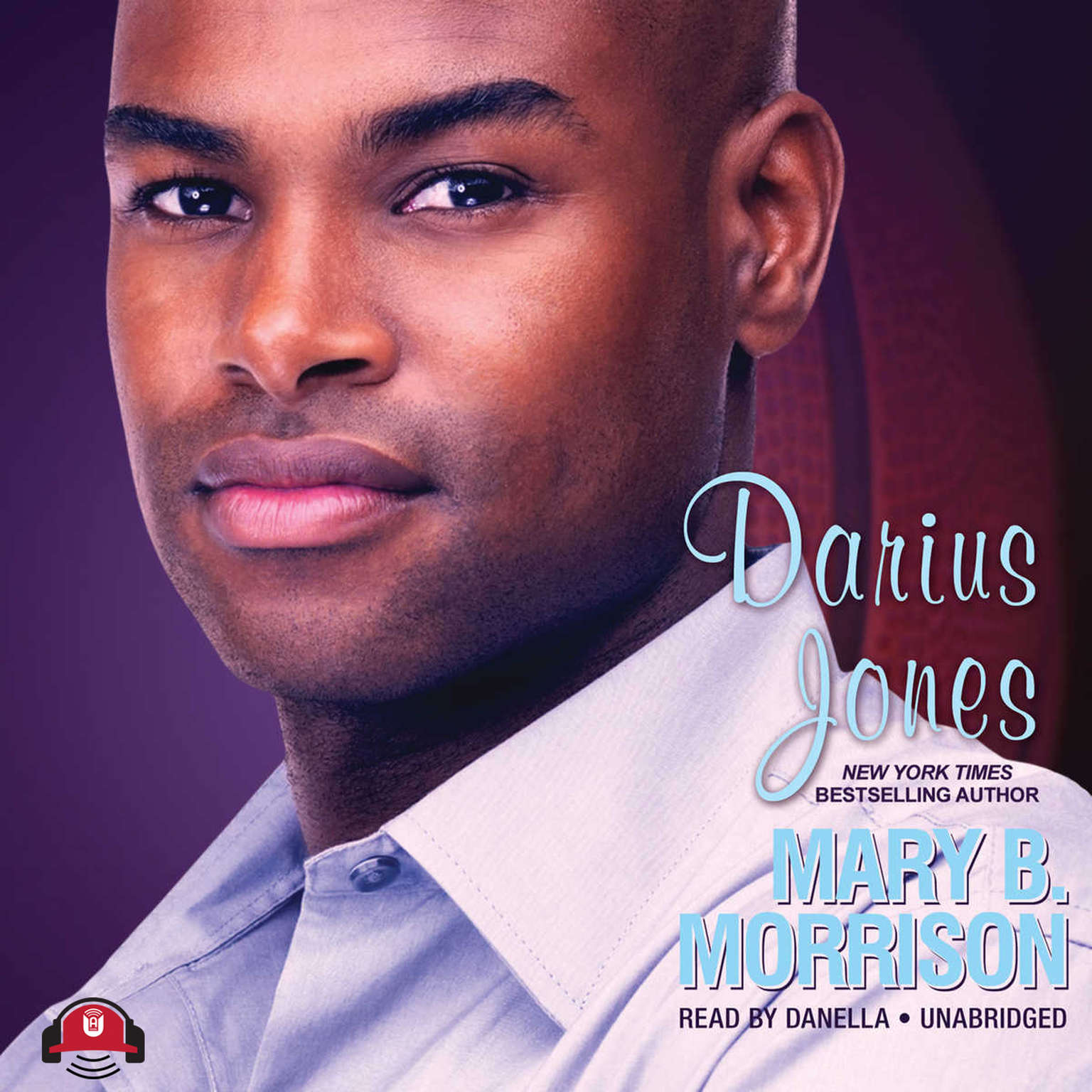 Printable Darius Jones Audiobook Cover Art