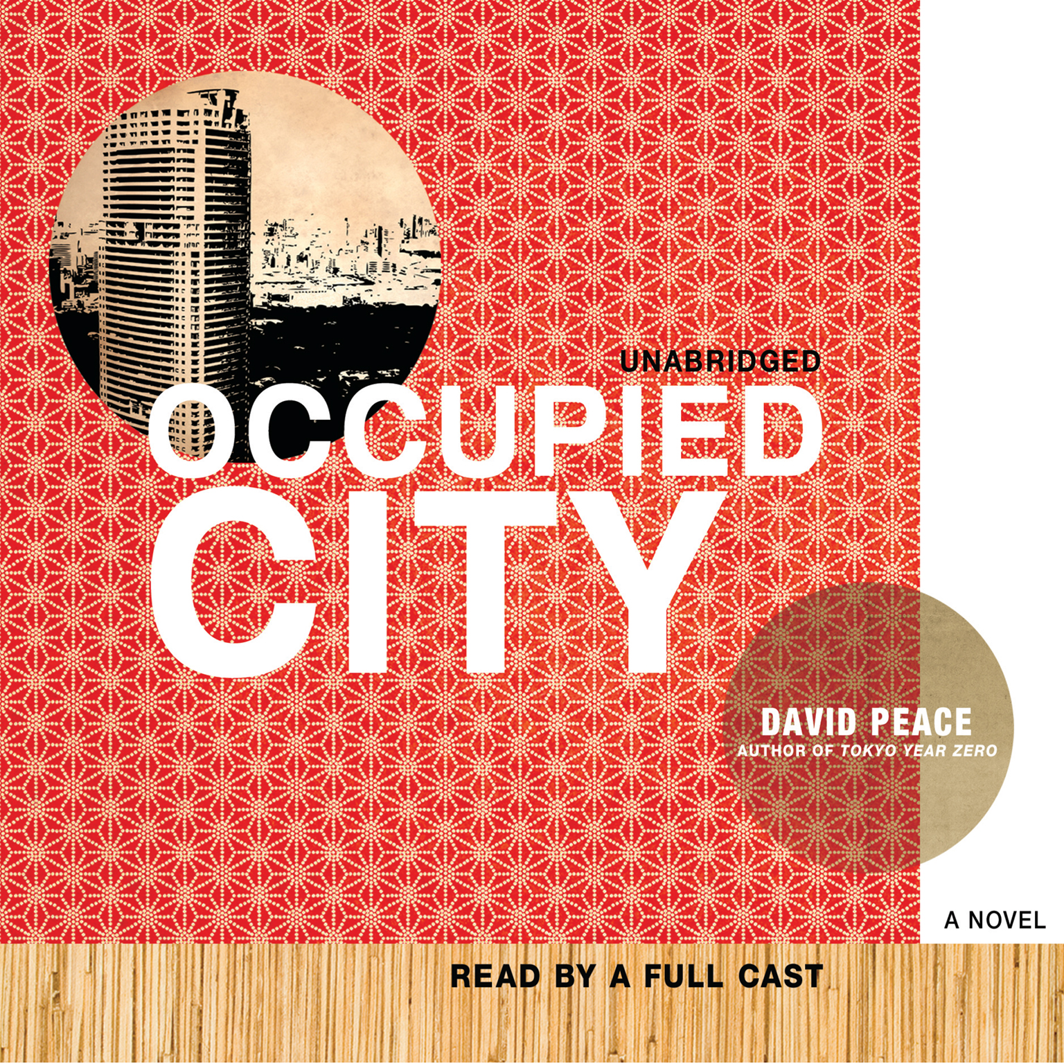 Printable Occupied City Audiobook Cover Art