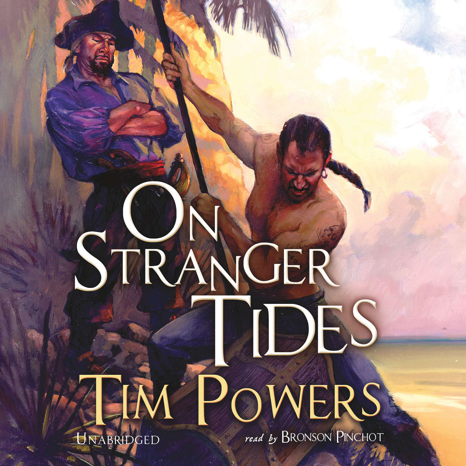 Printable On Stranger Tides Audiobook Cover Art