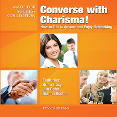 Converse with Charisma!: How to Talk to Anyone and Enjoy Networking Audiobook, by Made for Success