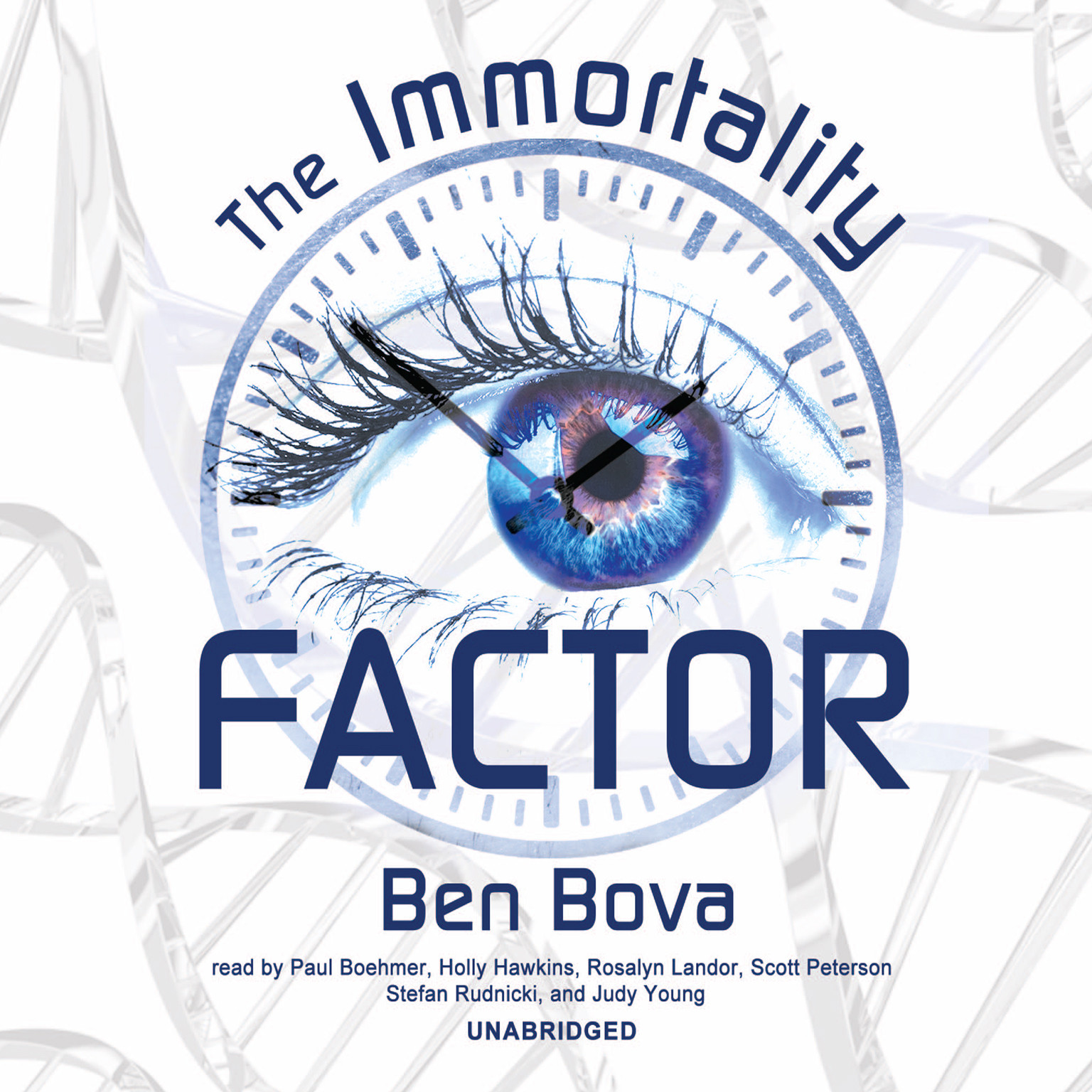 Printable The Immortality Factor Audiobook Cover Art