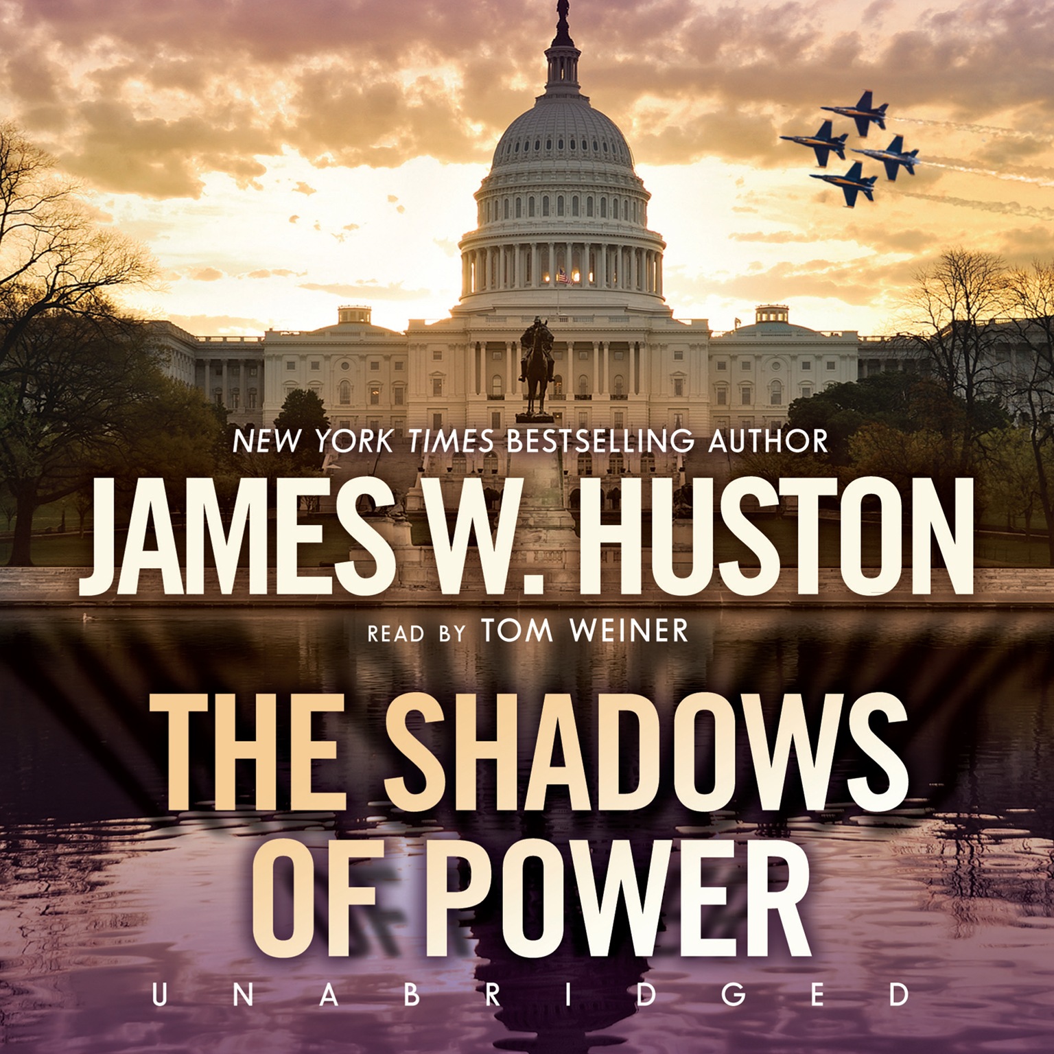 Printable The Shadows of Power Audiobook Cover Art