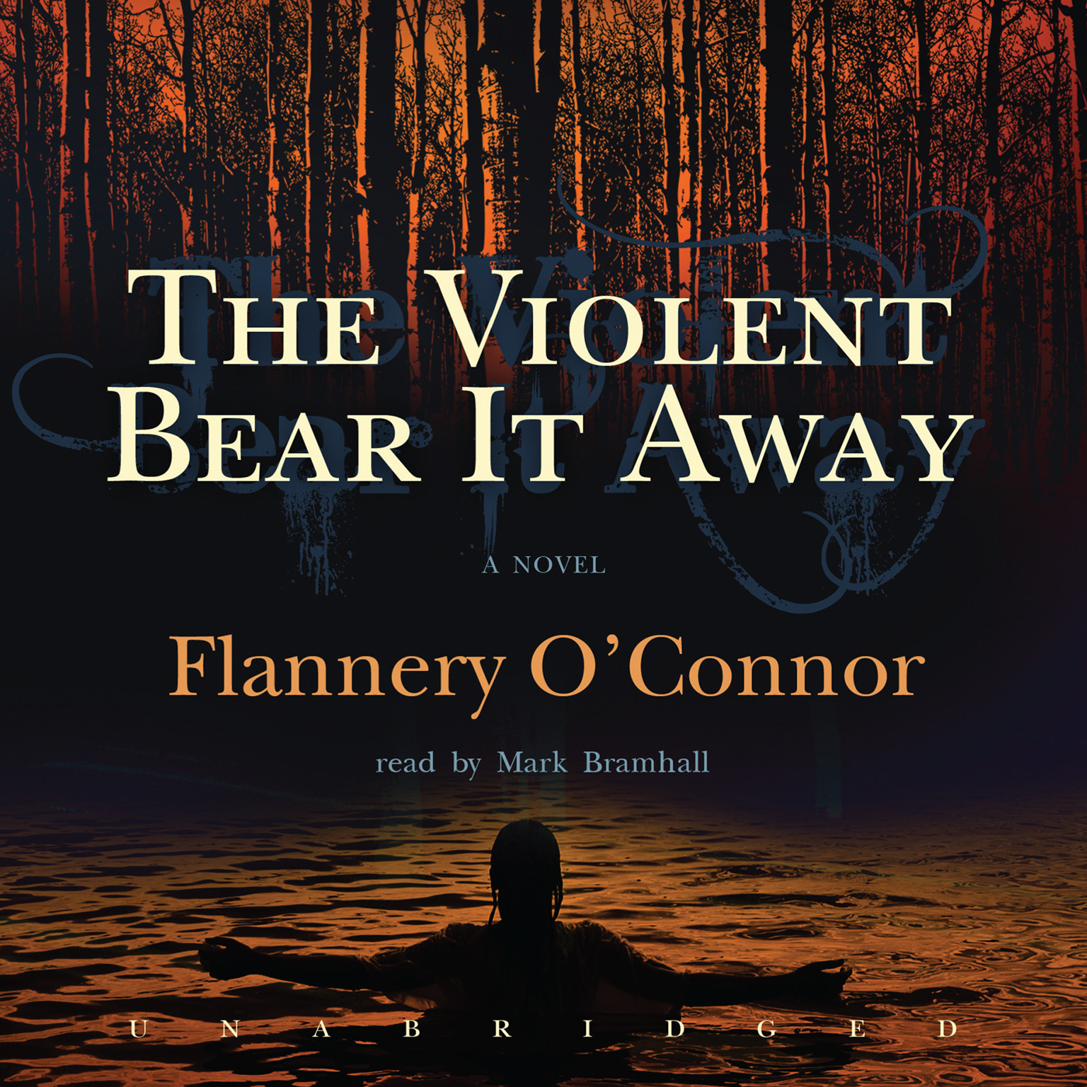 Printable The Violent Bear It Away Audiobook Cover Art
