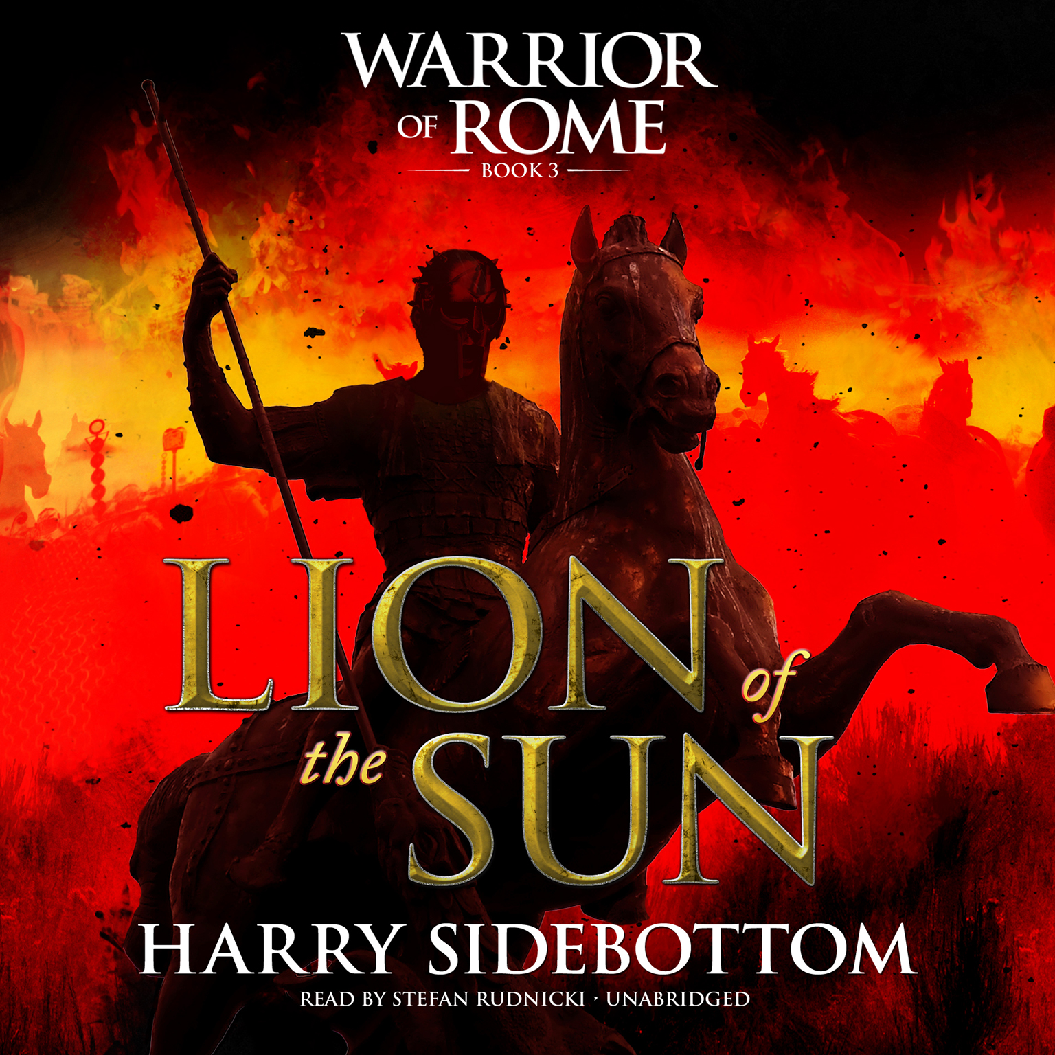 Printable Lion of the Sun: Warrior of Rome III Audiobook Cover Art